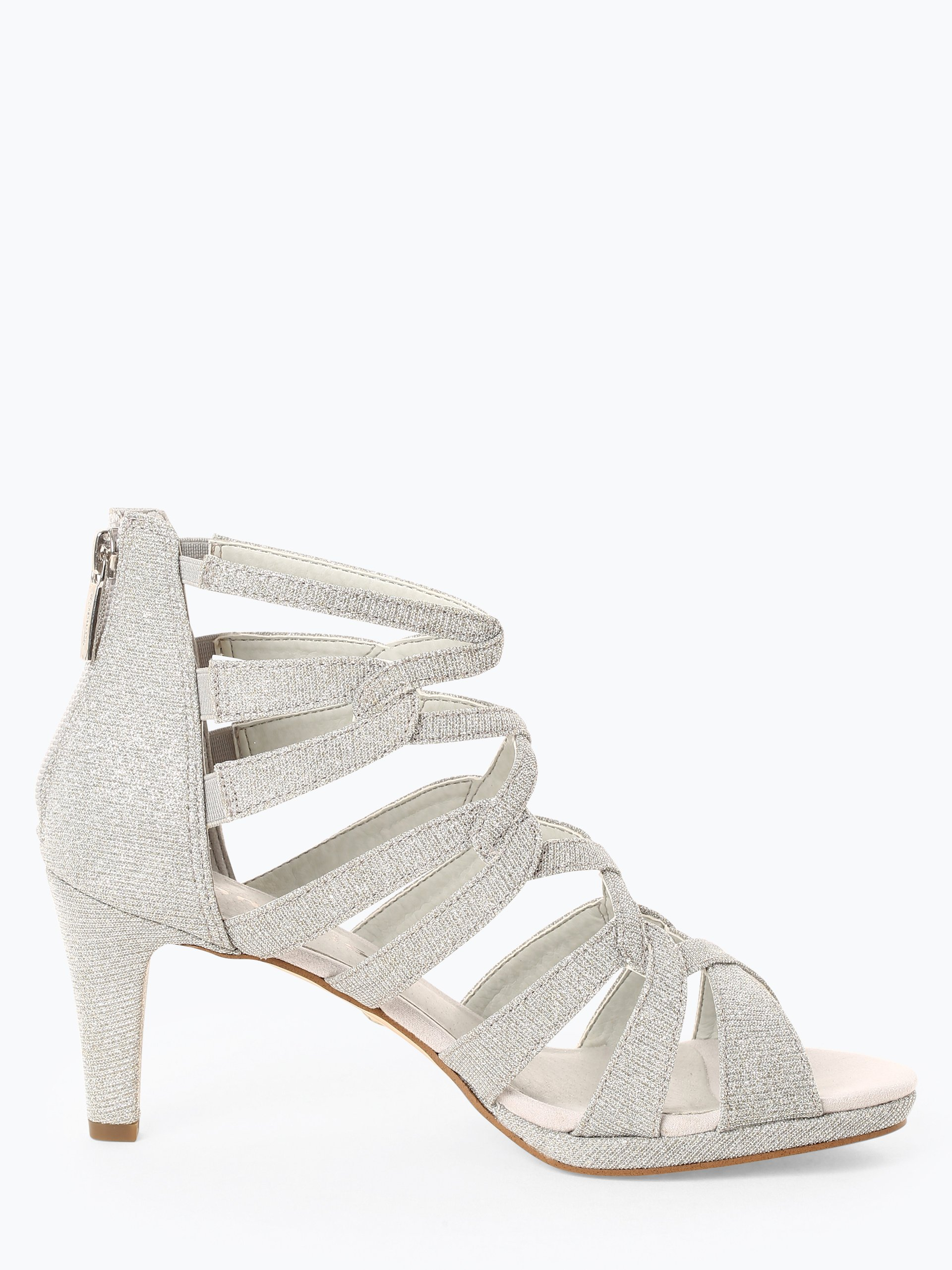 Tamaris Damen Sandaletten mit Leder-Anteil