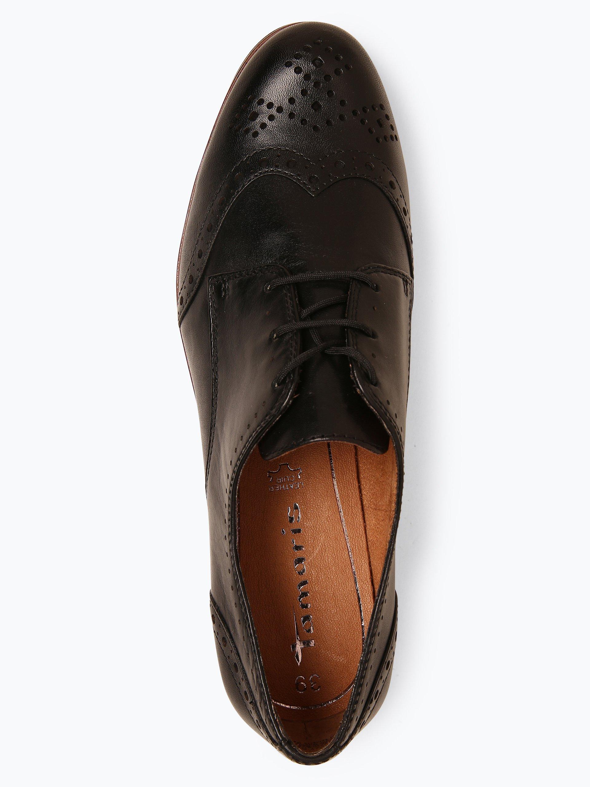 Tamaris Damen Schnürschuhe aus Leder