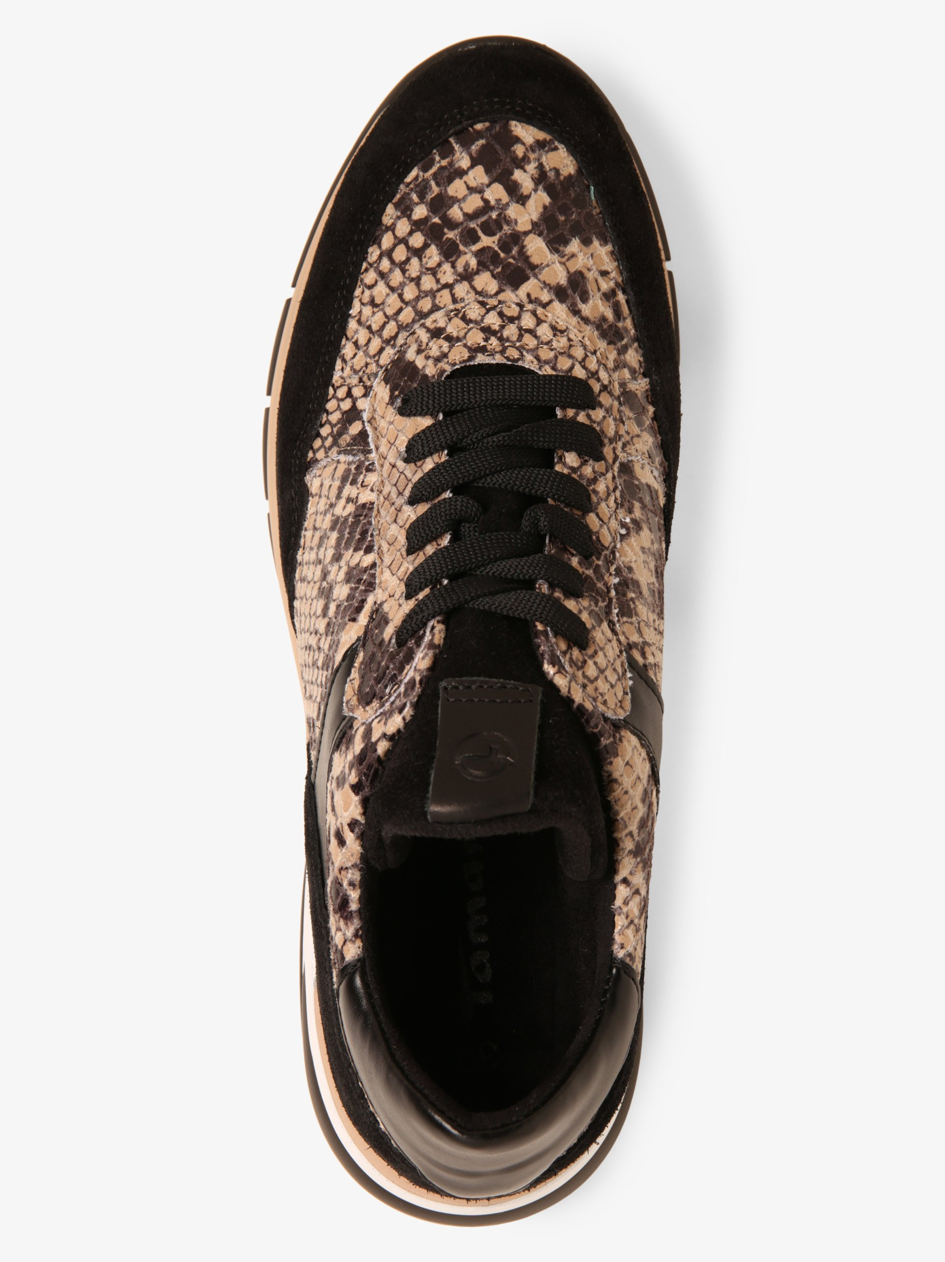 Tamaris Damen Sneaker mit Leder-Anteil