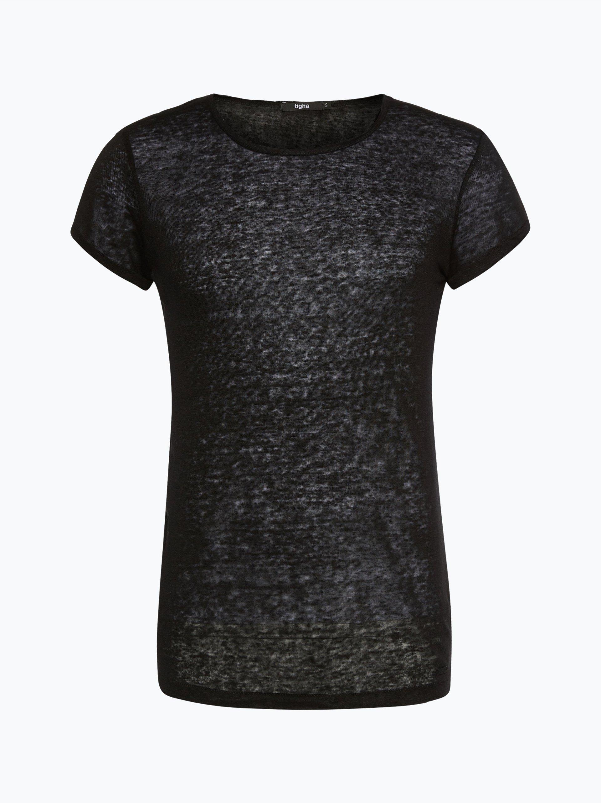 tigha herren leinenshirt rojan schwarz uni online kaufen vangraaf com. Black Bedroom Furniture Sets. Home Design Ideas