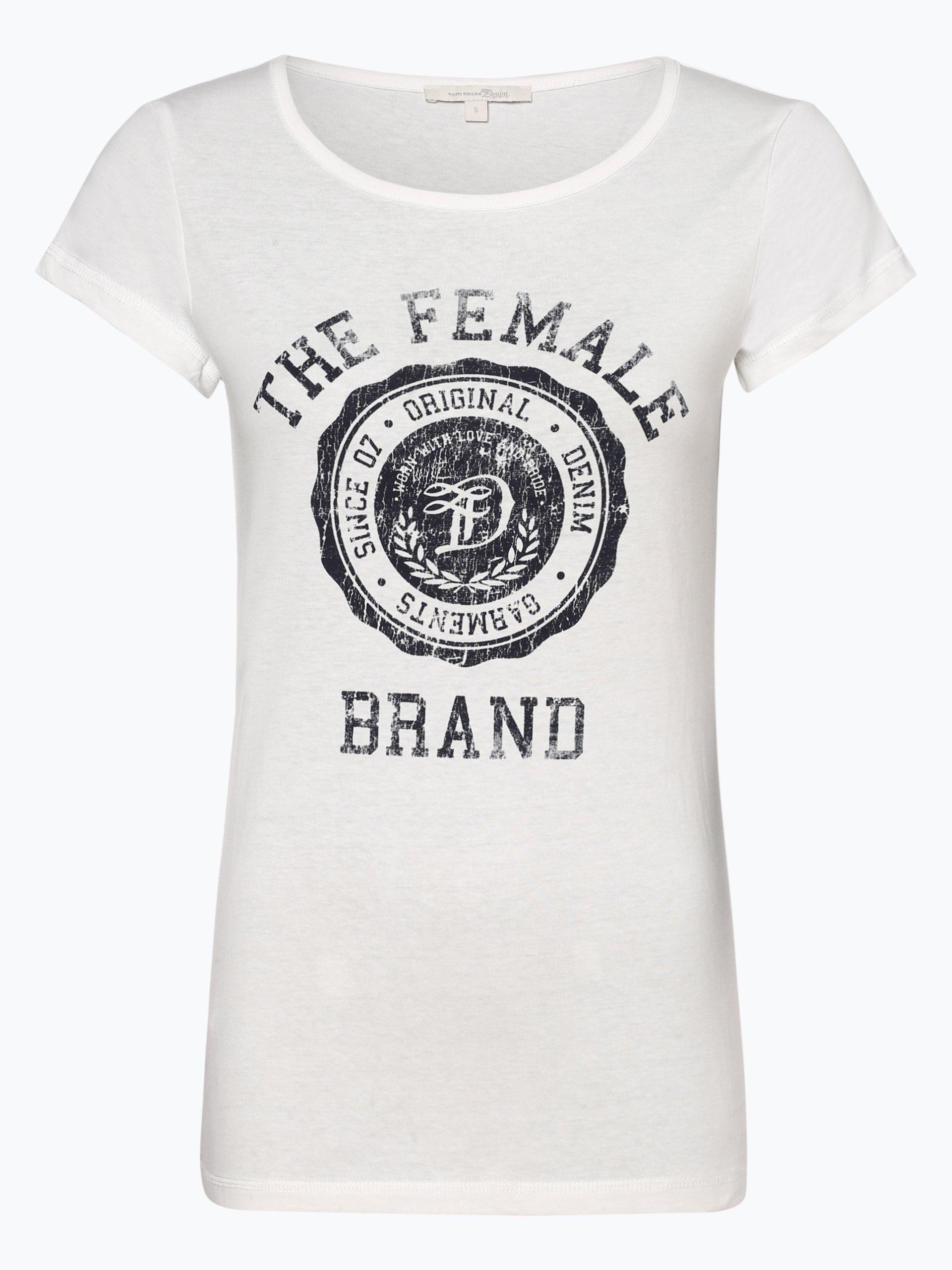 tom tailor denim damen t shirt online kaufen peek und. Black Bedroom Furniture Sets. Home Design Ideas