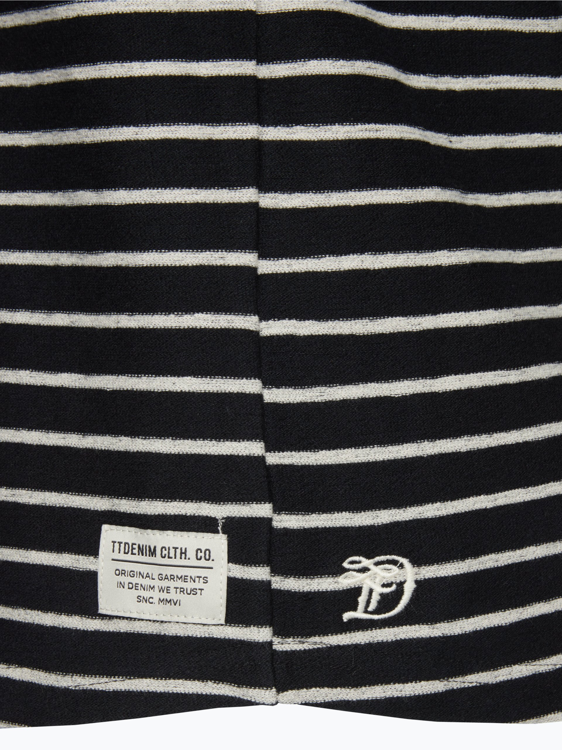 Tom Tailor Denim Herren Langarmshirt