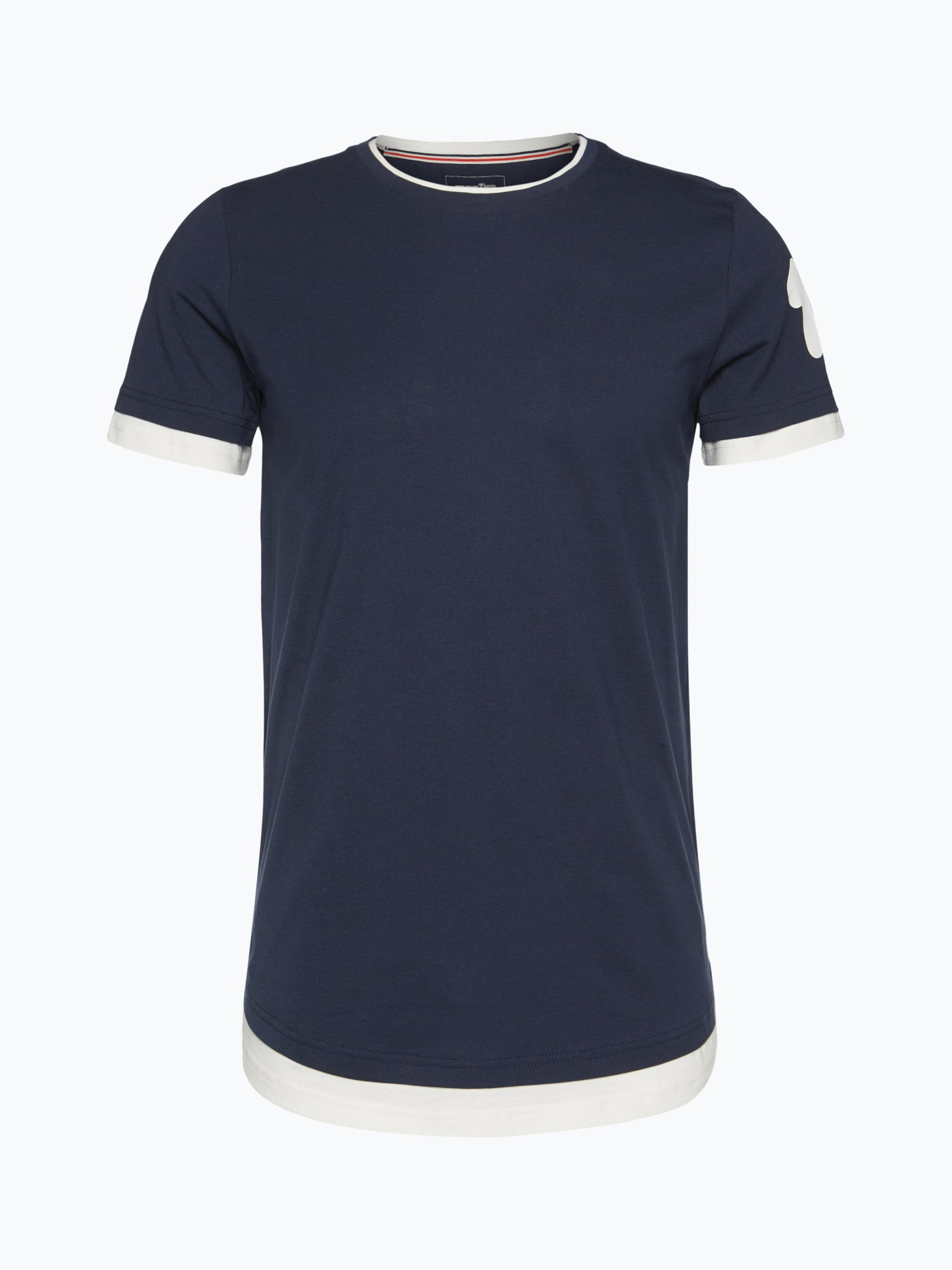 tom tailor denim herren t shirt marine uni online kaufen. Black Bedroom Furniture Sets. Home Design Ideas