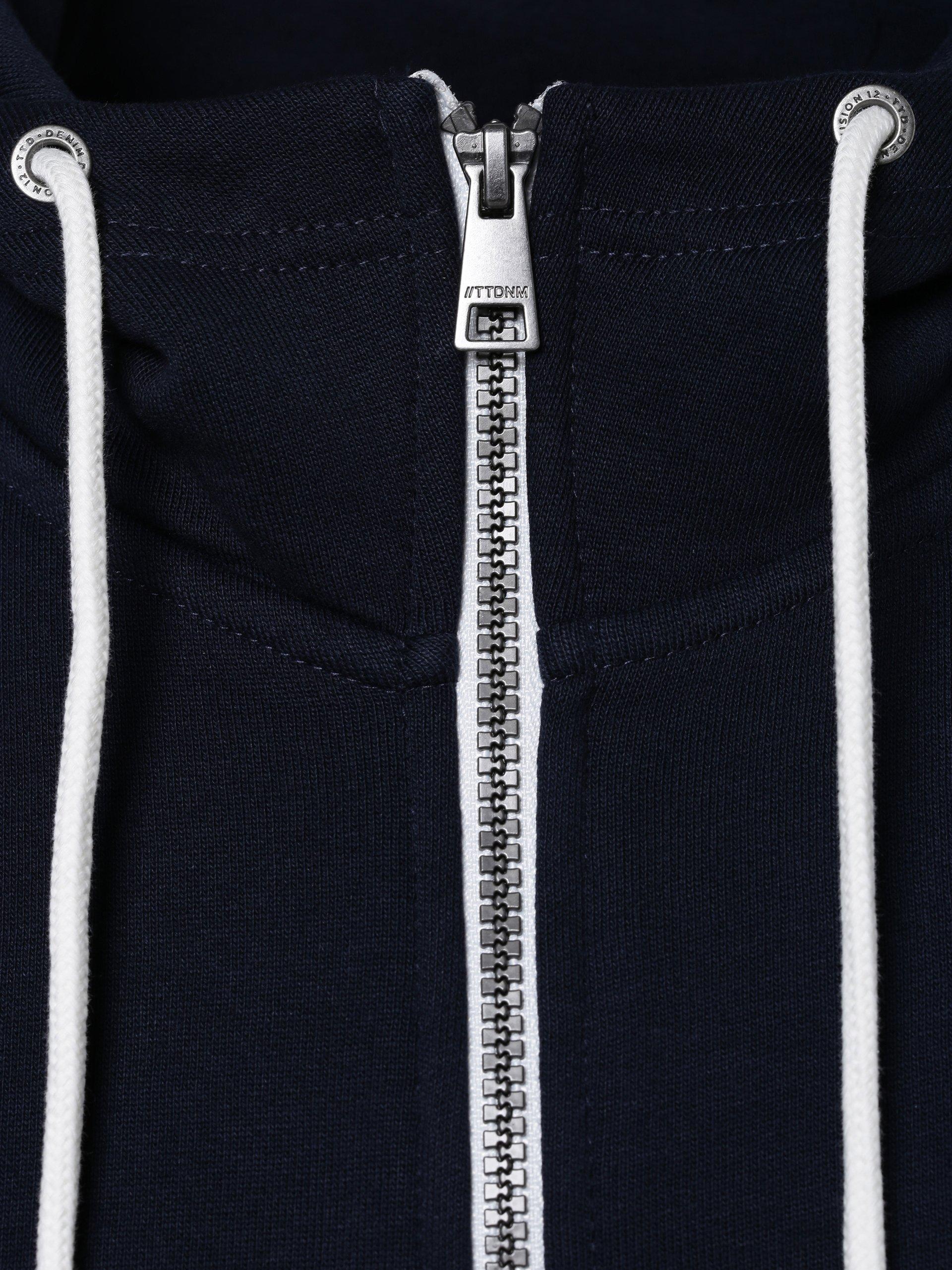 Tom Tailor Denim Męska bluza rozpinana