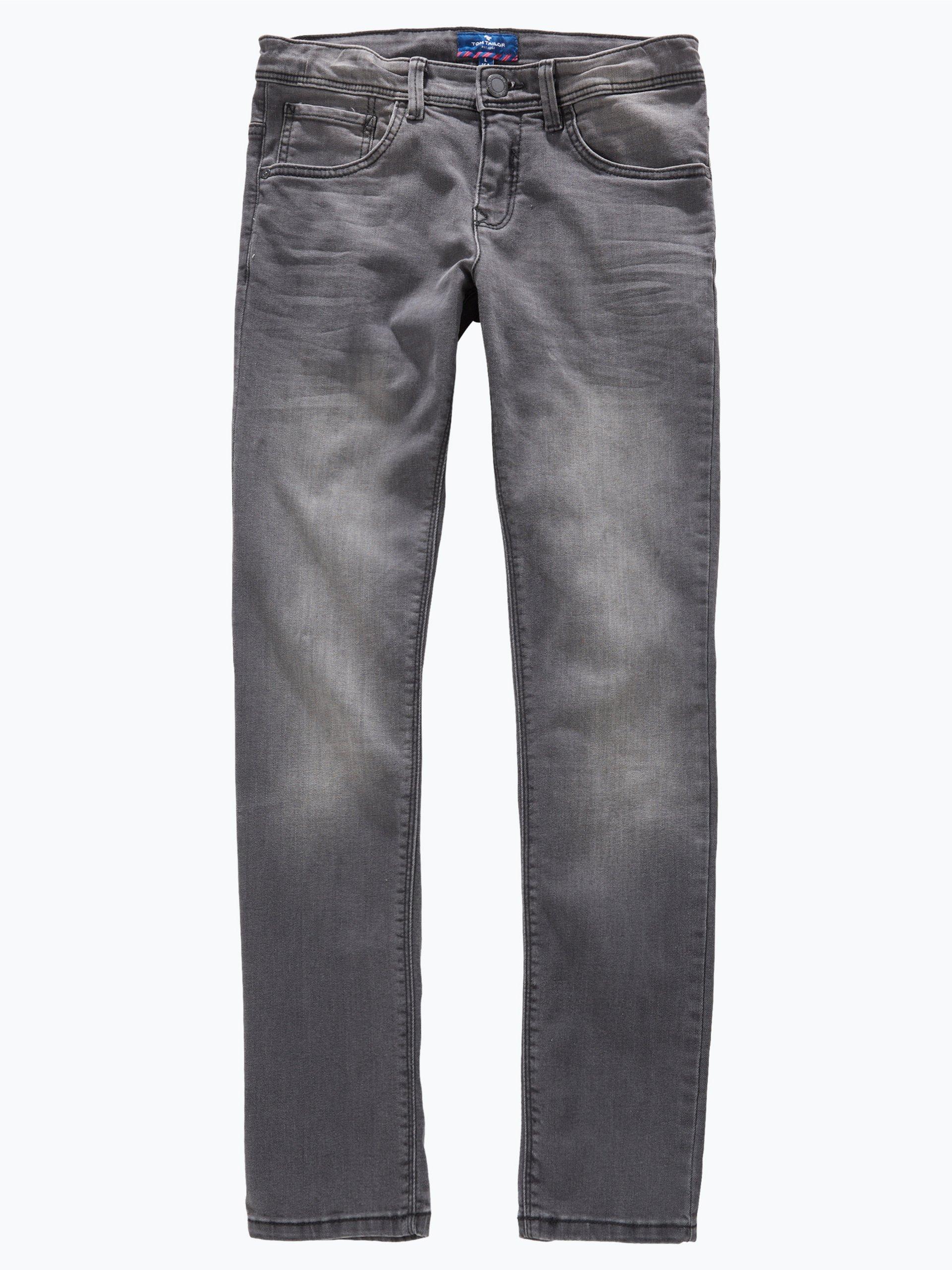 tom tailor jungen jeans ryan slim fit grau uni online. Black Bedroom Furniture Sets. Home Design Ideas