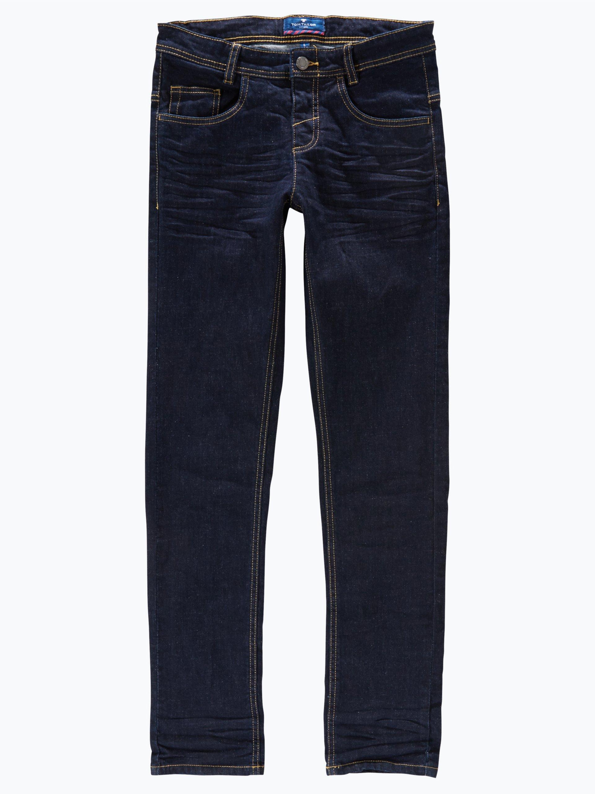 tom tailor jungen jeans tom slim fit indigo uni online. Black Bedroom Furniture Sets. Home Design Ideas