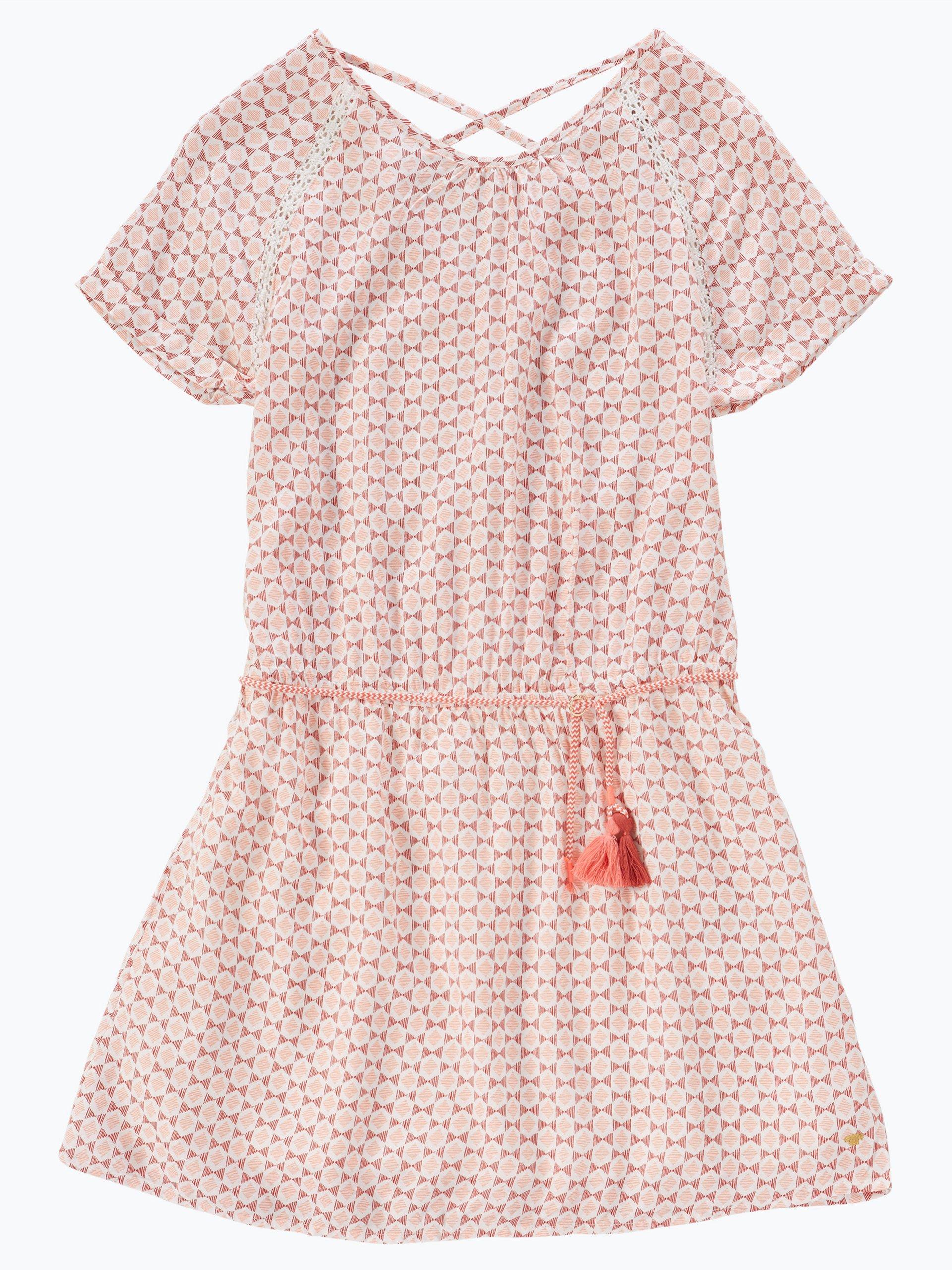 tom tailor m dchen kleid mehrfarbig rosa uni online kaufen. Black Bedroom Furniture Sets. Home Design Ideas