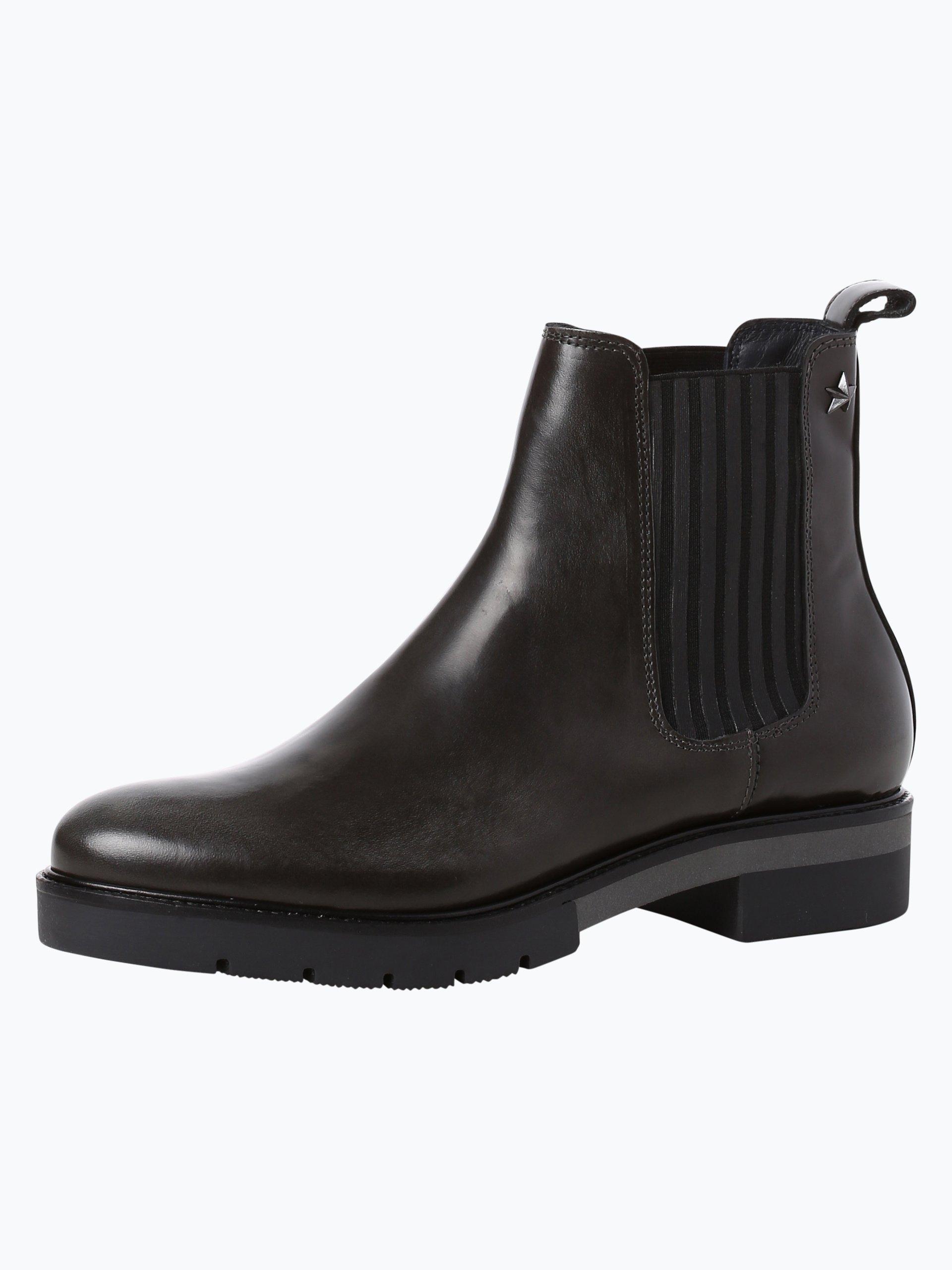 tommy hilfiger damen chelsea boots aus leder roxana. Black Bedroom Furniture Sets. Home Design Ideas