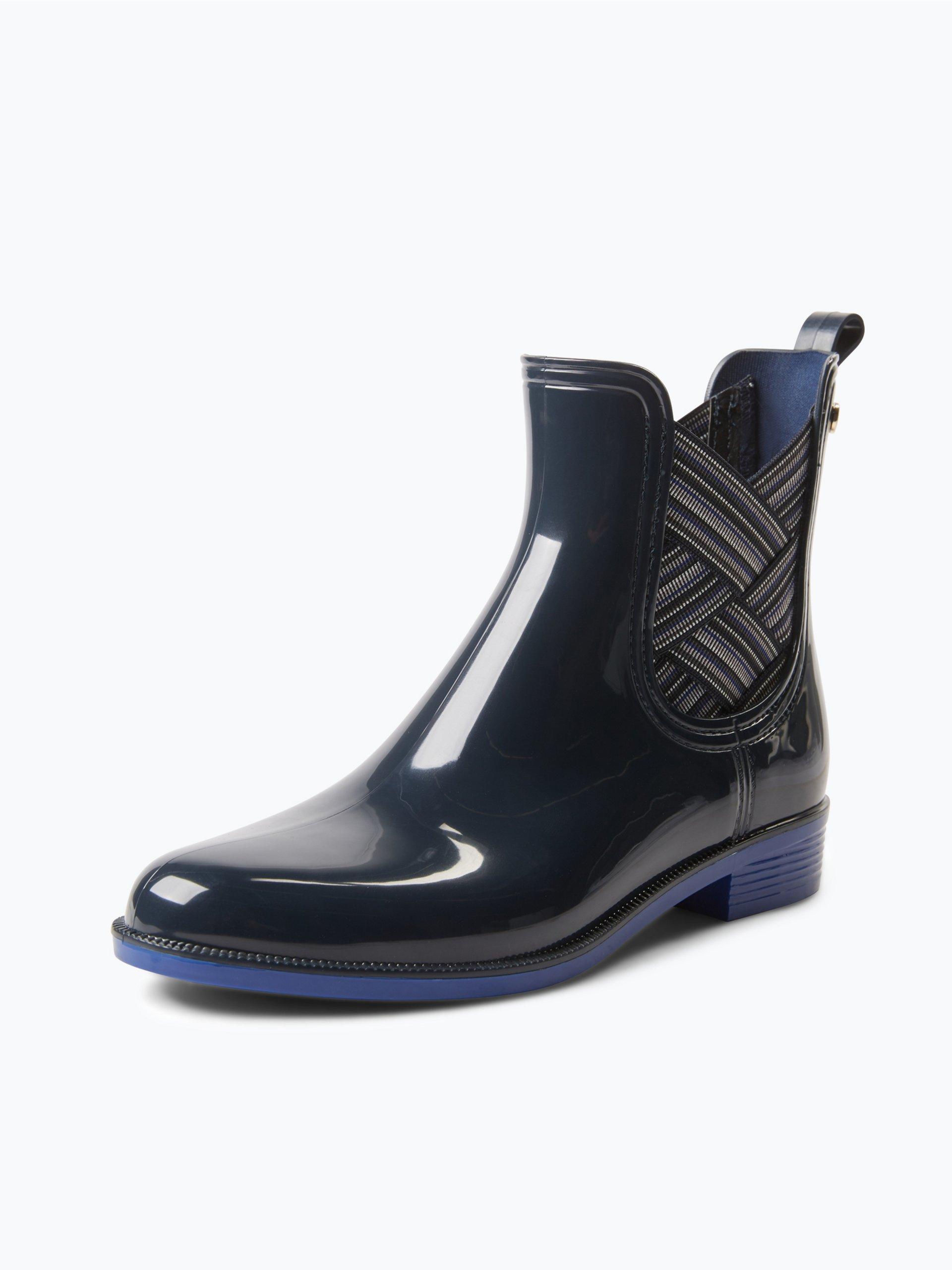 tommy hilfiger damen chelsea boots odette marine uni. Black Bedroom Furniture Sets. Home Design Ideas