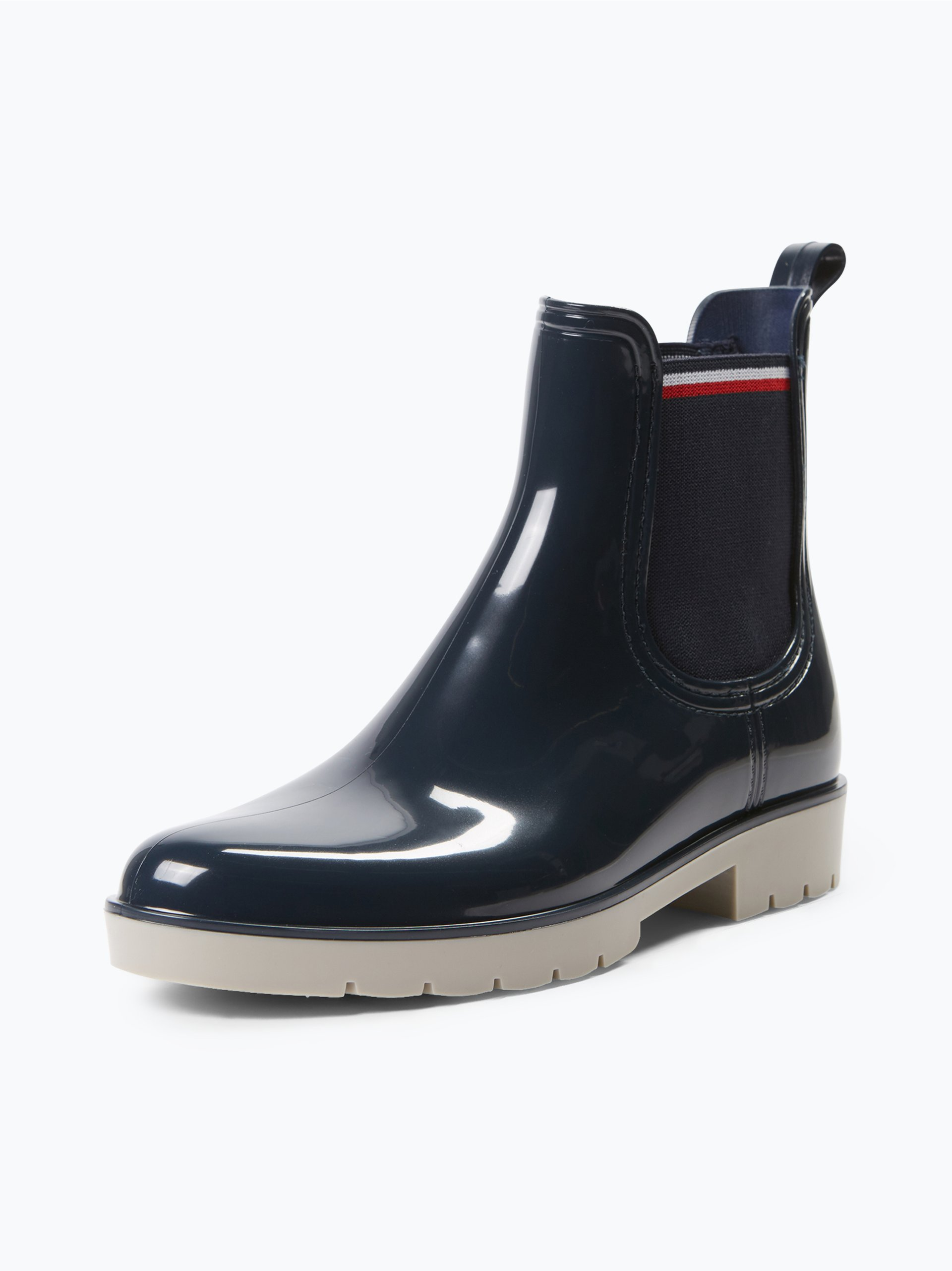 tommy hilfiger damen chelsea boots marine uni online. Black Bedroom Furniture Sets. Home Design Ideas