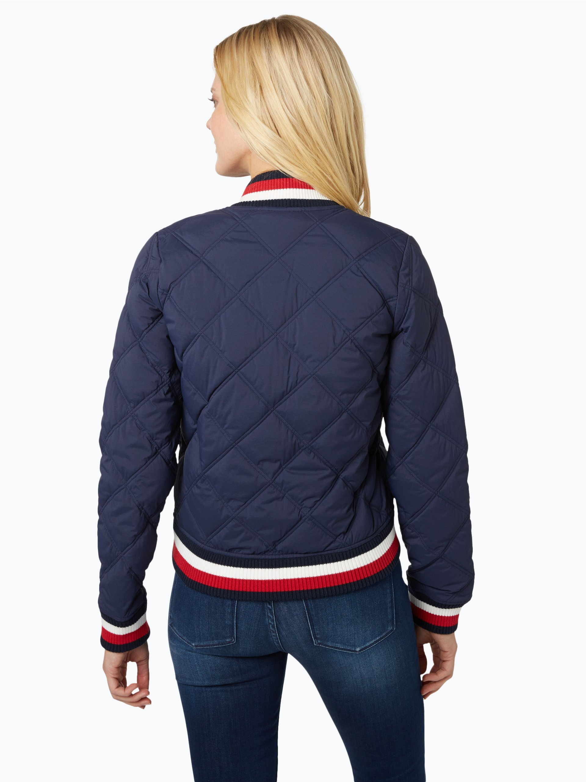 steppjacke tommy hilfiger damen tommy hilfiger steppjacke mit webpelz kapuze daunen federn. Black Bedroom Furniture Sets. Home Design Ideas