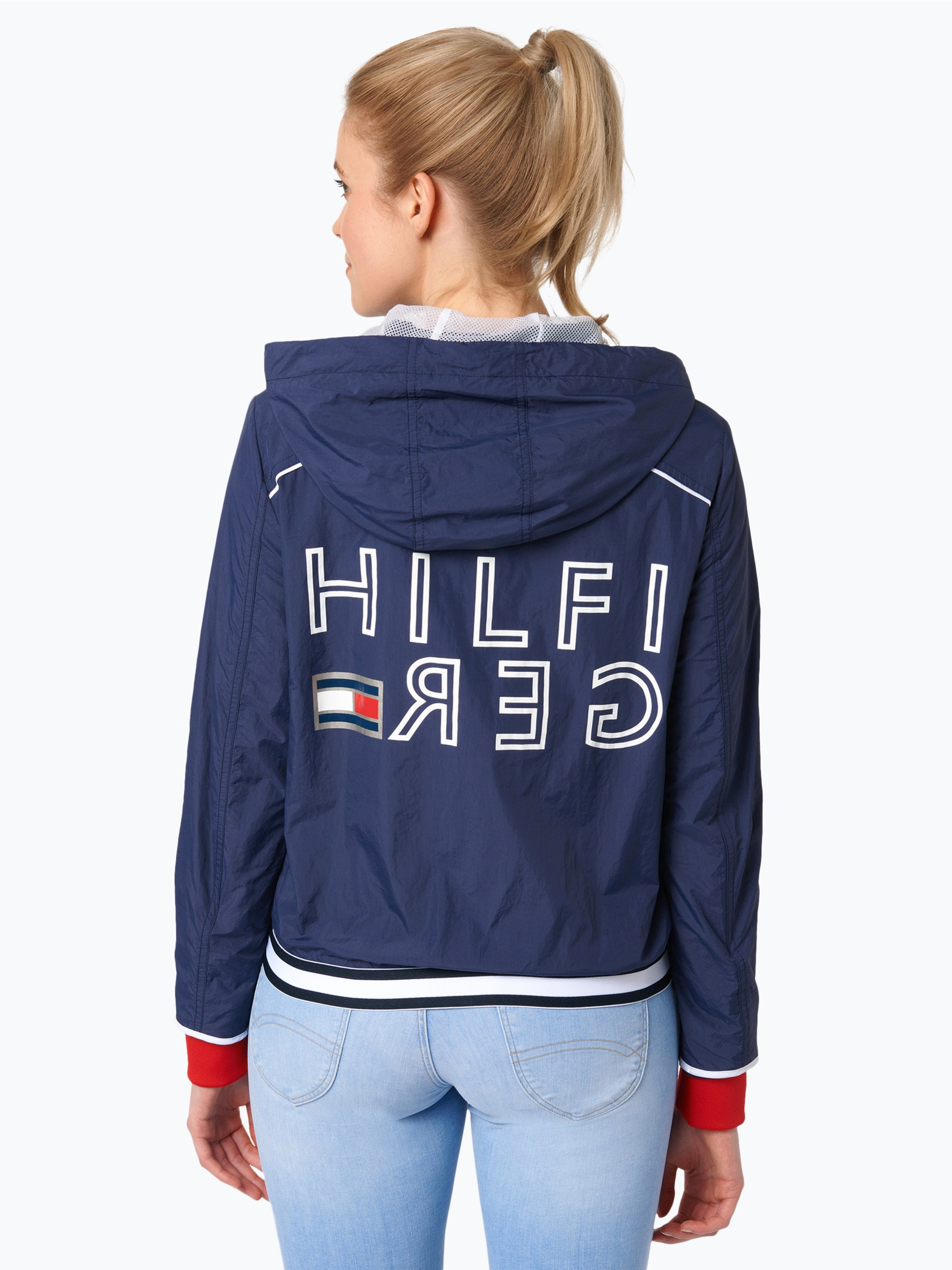 tommy hilfiger damen jacke romana marine uni online. Black Bedroom Furniture Sets. Home Design Ideas