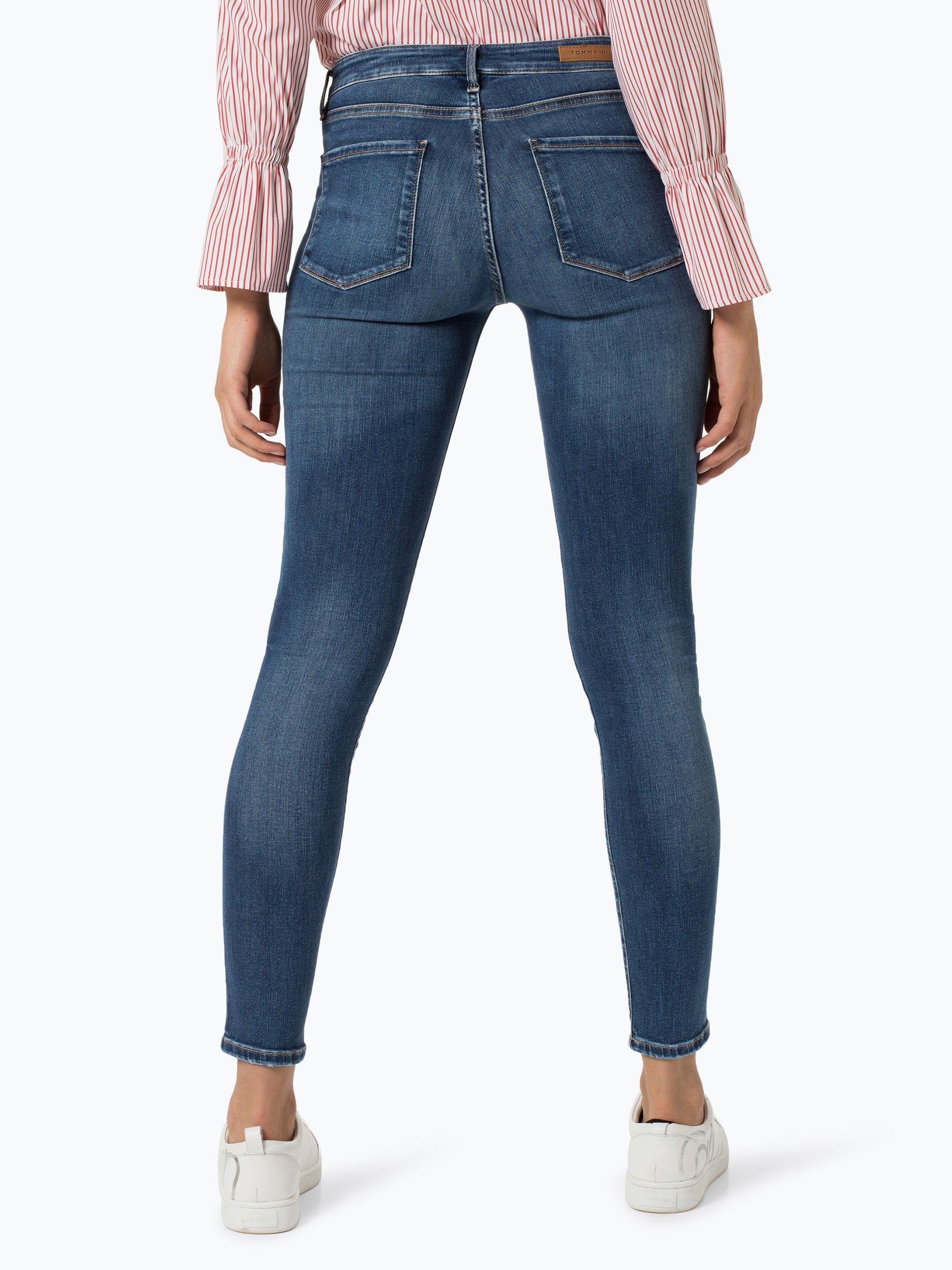 tommy hilfiger damen jeans isabel hellblau denim uni. Black Bedroom Furniture Sets. Home Design Ideas