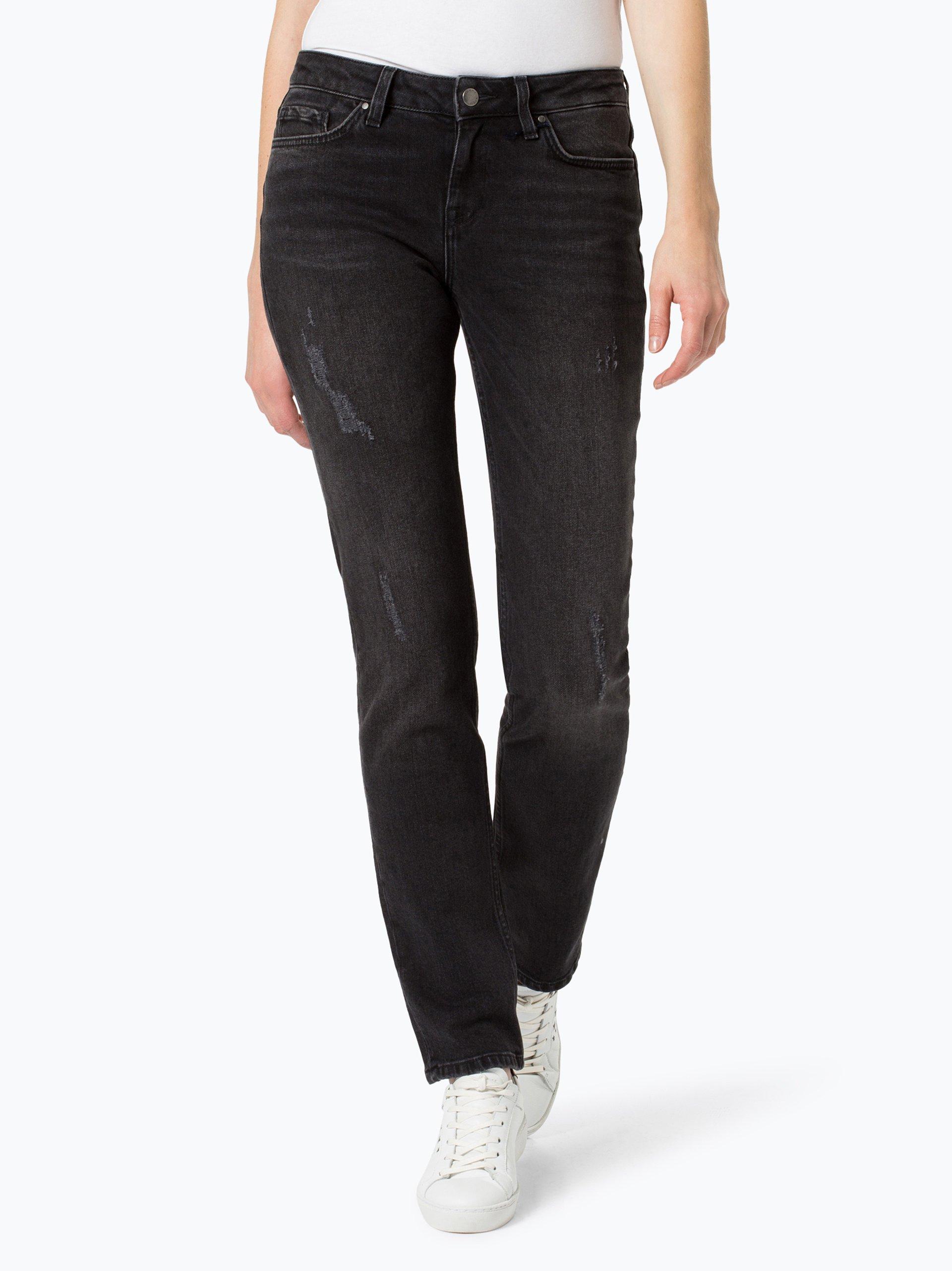tommy hilfiger damen jeans rome schwarz uni online. Black Bedroom Furniture Sets. Home Design Ideas