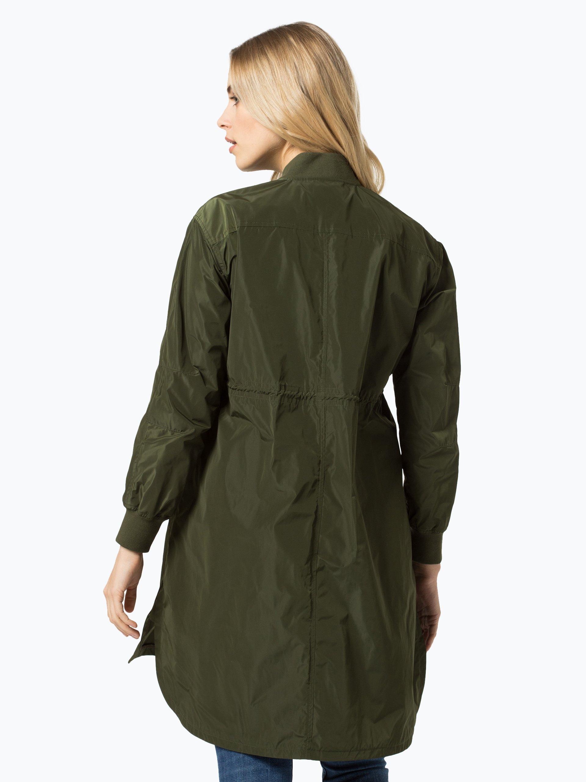 tommy hilfiger damen mantel immy oliv uni online kaufen. Black Bedroom Furniture Sets. Home Design Ideas