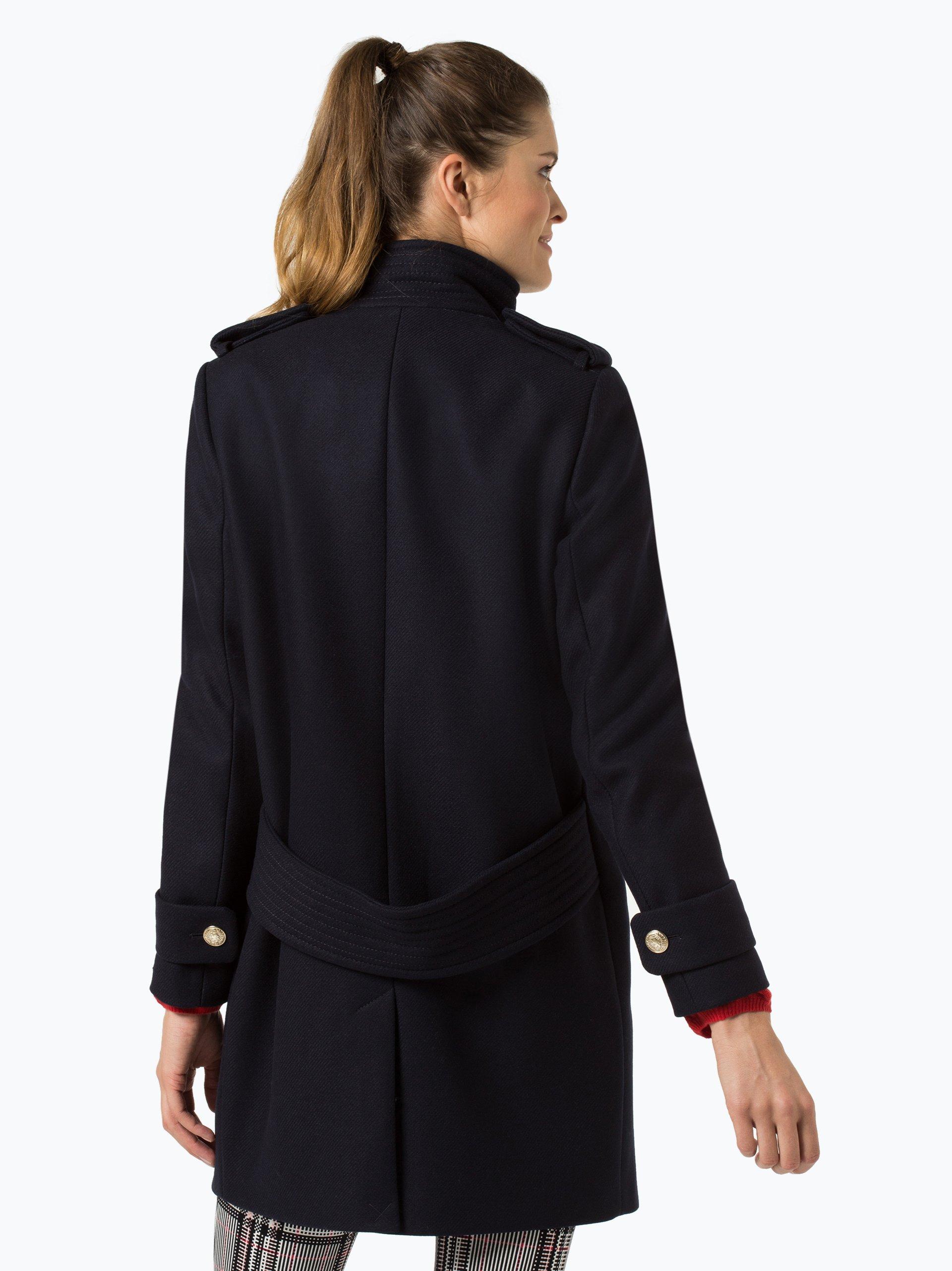 tommy hilfiger damen mantel mit cashmere anteil belle. Black Bedroom Furniture Sets. Home Design Ideas