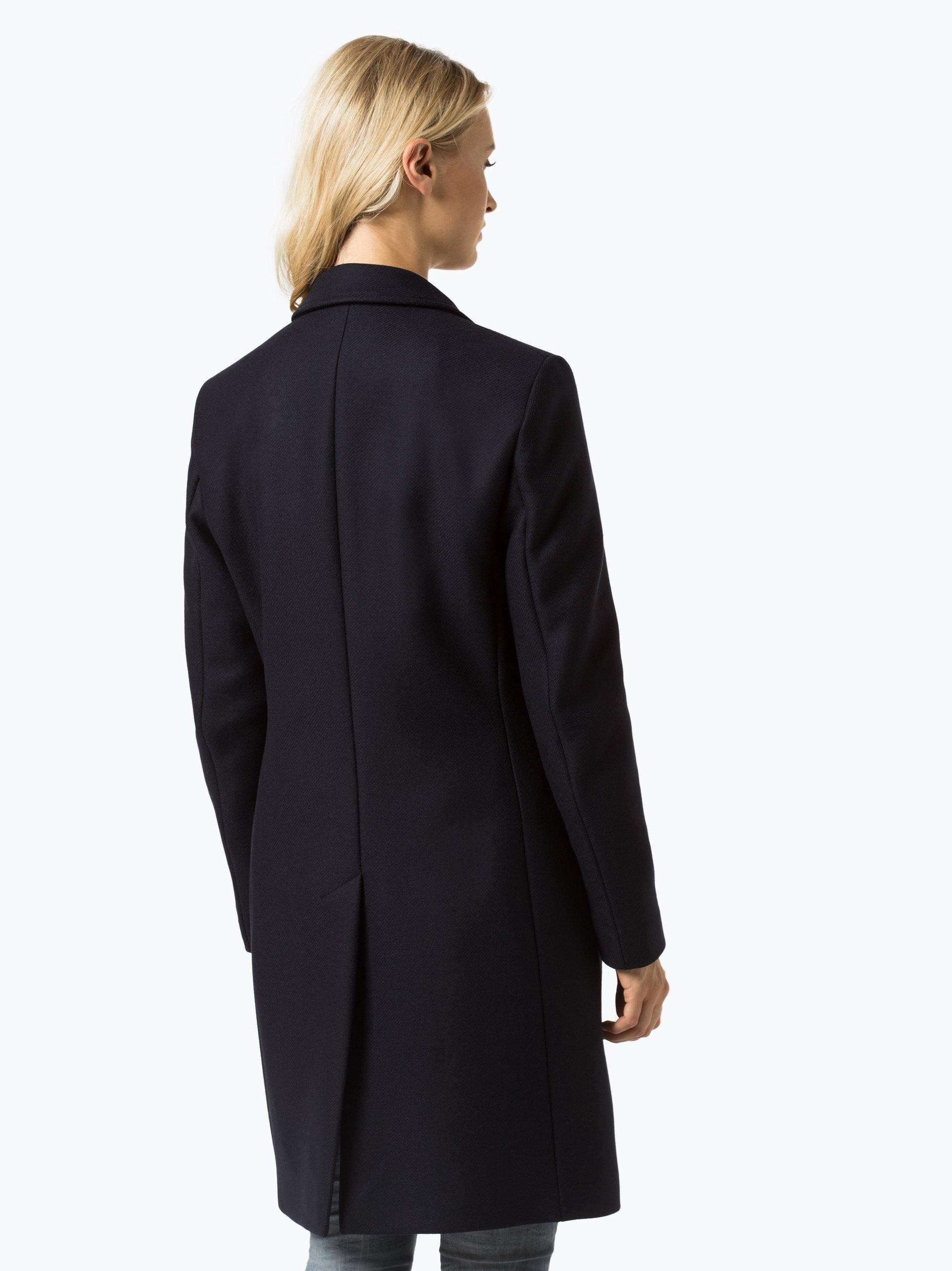 tommy hilfiger damen mantel mit cashmere anteil marine uni online kaufen peek und cloppenburg de. Black Bedroom Furniture Sets. Home Design Ideas