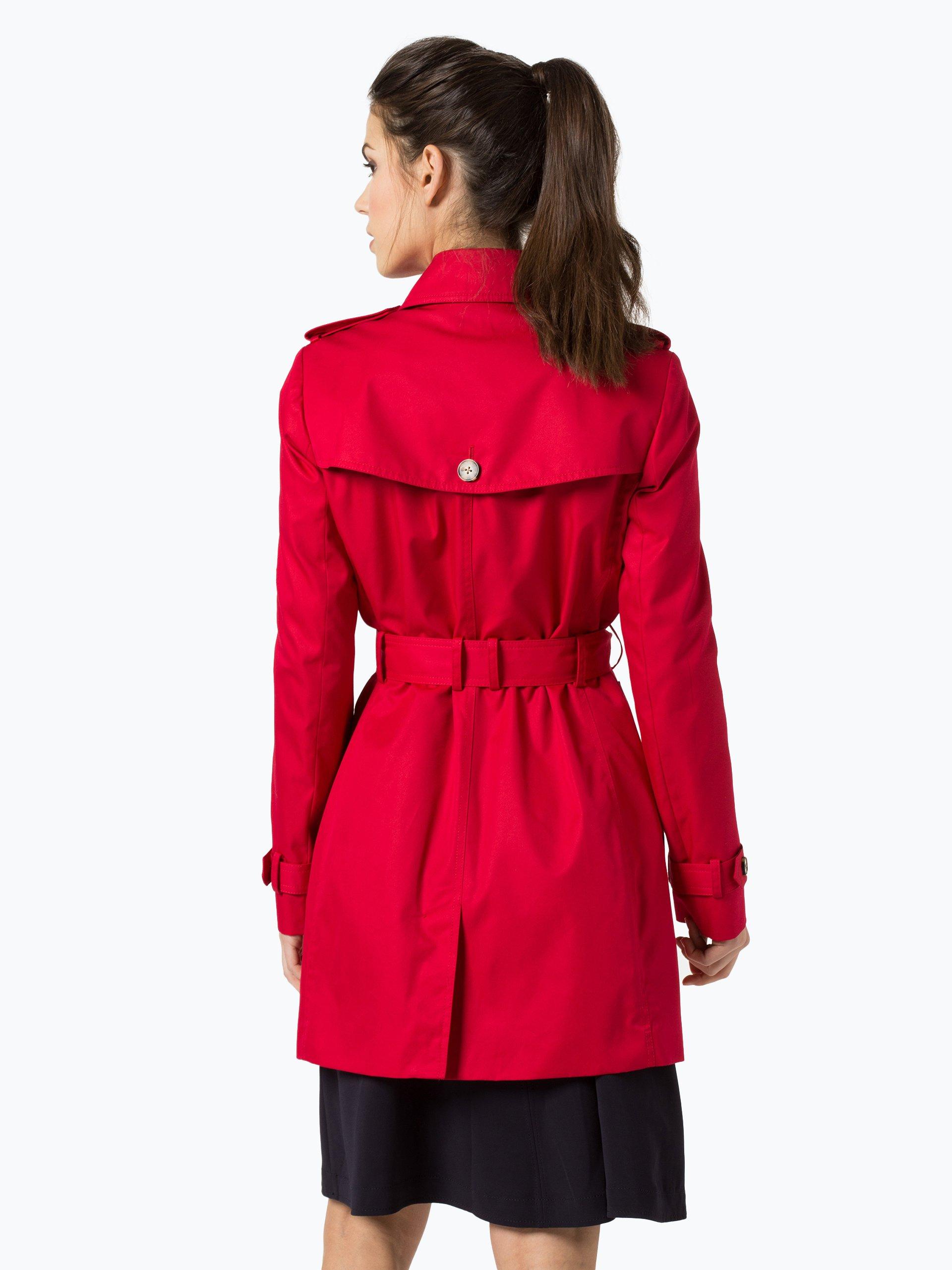 tommy hilfiger damen mantel mit leder anteil online kaufen. Black Bedroom Furniture Sets. Home Design Ideas