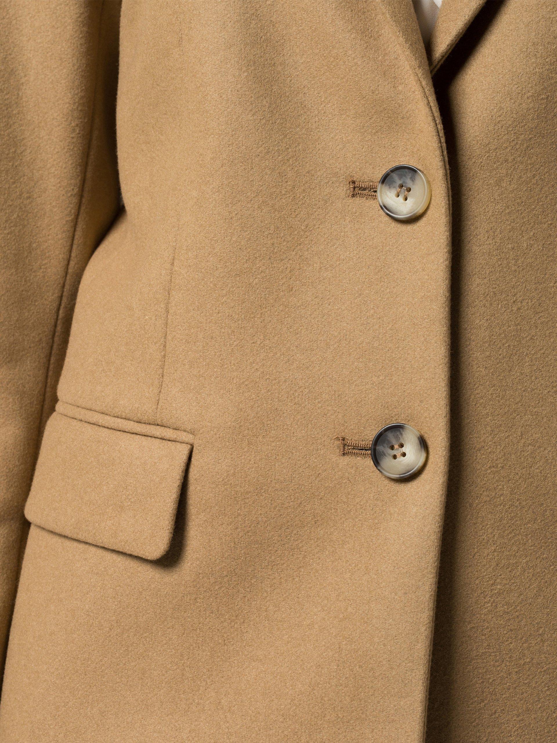 tommy hilfiger damen mantel camel uni online kaufen peek. Black Bedroom Furniture Sets. Home Design Ideas