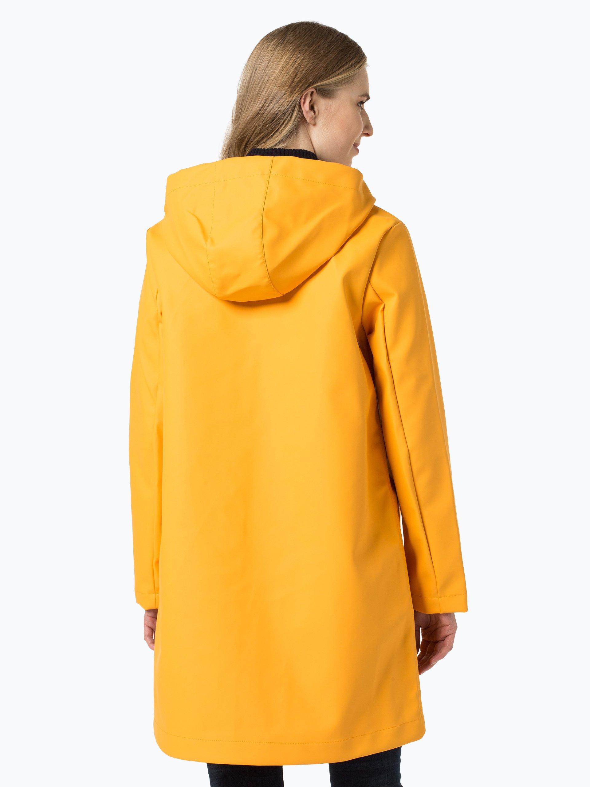 tommy hilfiger damen mantel gelb uni online kaufen. Black Bedroom Furniture Sets. Home Design Ideas