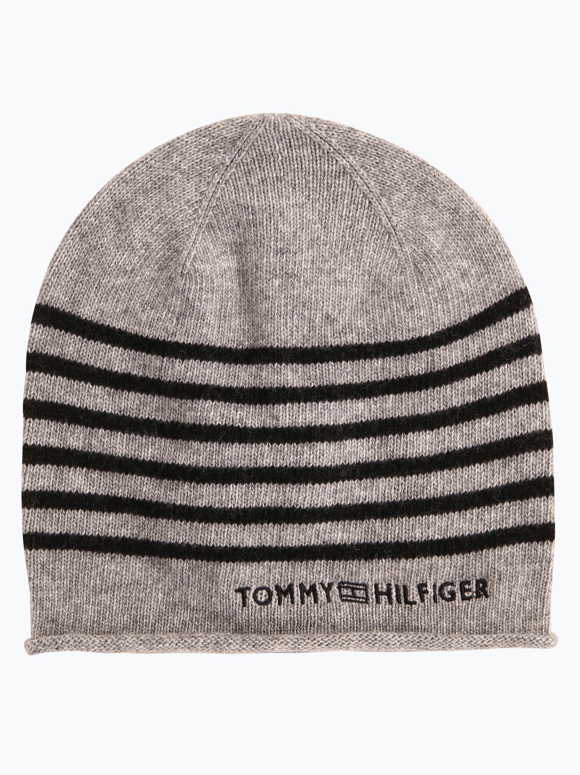 Tommy Hilfiger Damen Mütze mit Cashmere-Anteil