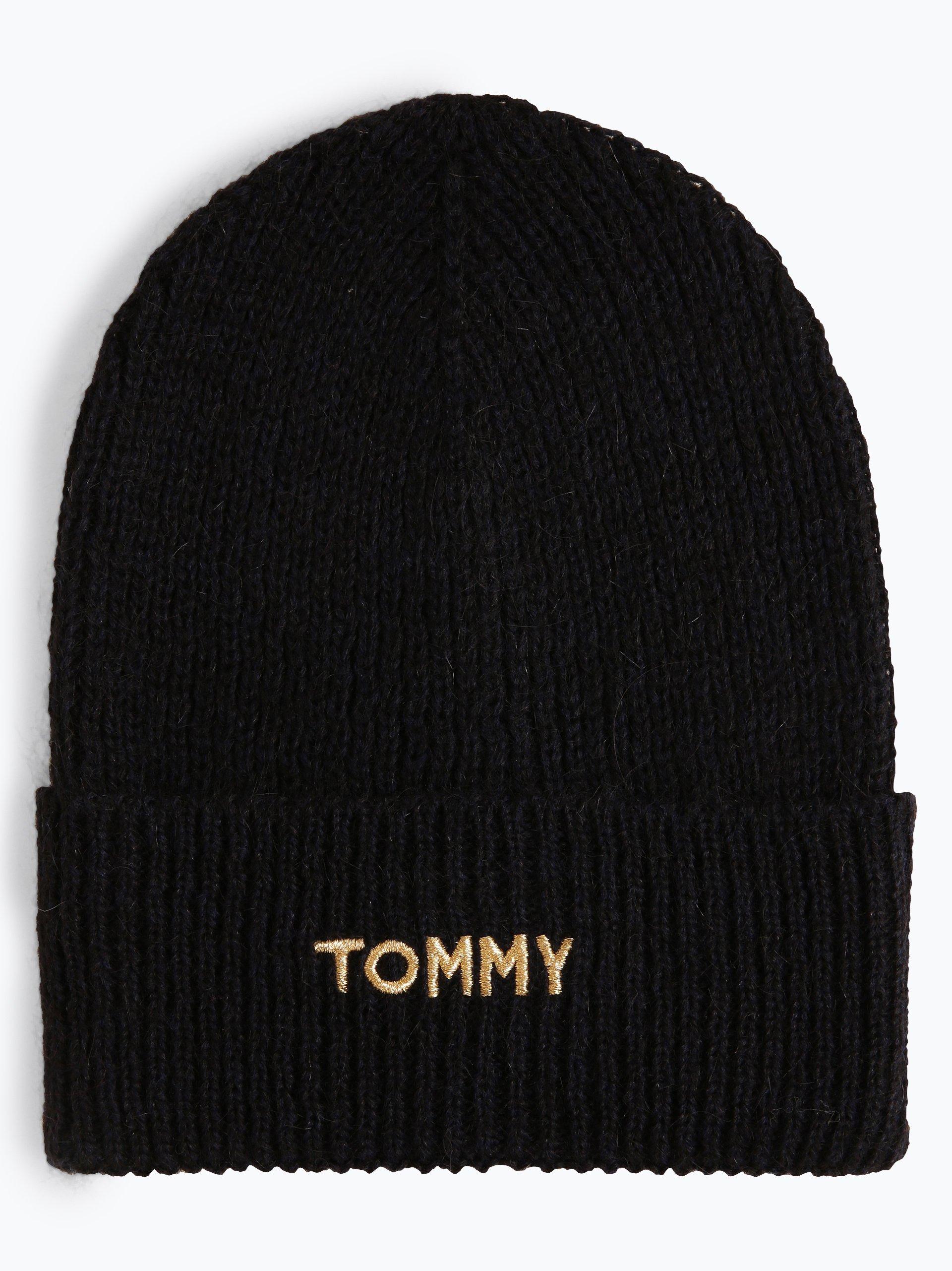 Tommy Hilfiger Damen Mütze mit Mohair-Anteil
