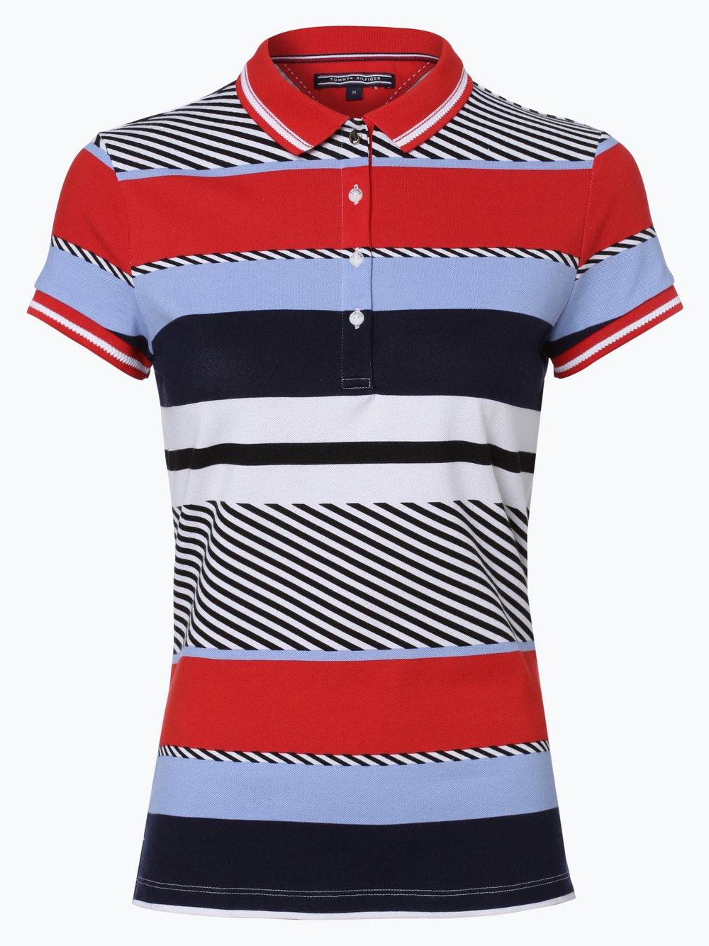 angemessener Preis lebendig und großartig im Stil beliebte Marke Tommy Hilfiger Damen Poloshirt online kaufen | VANGRAAF.COM