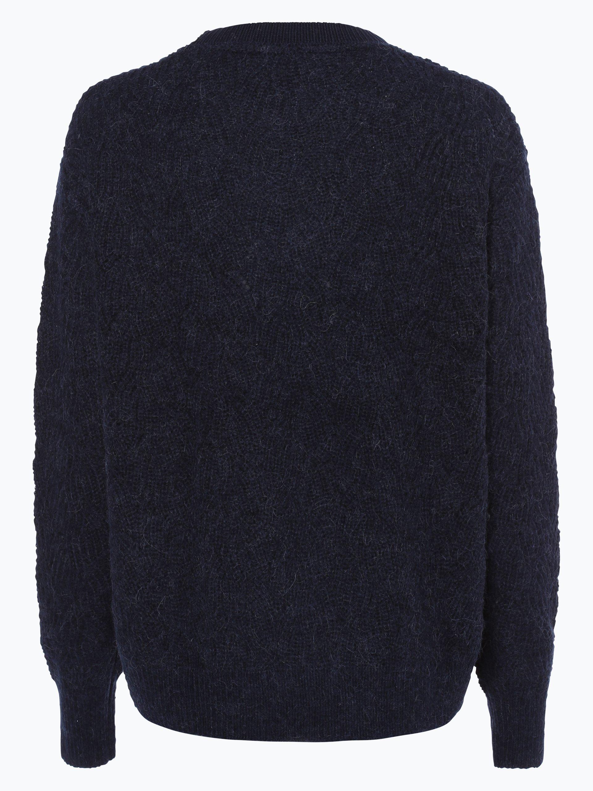 tommy hilfiger damen pullover mit alpaka anteil marine uni. Black Bedroom Furniture Sets. Home Design Ideas