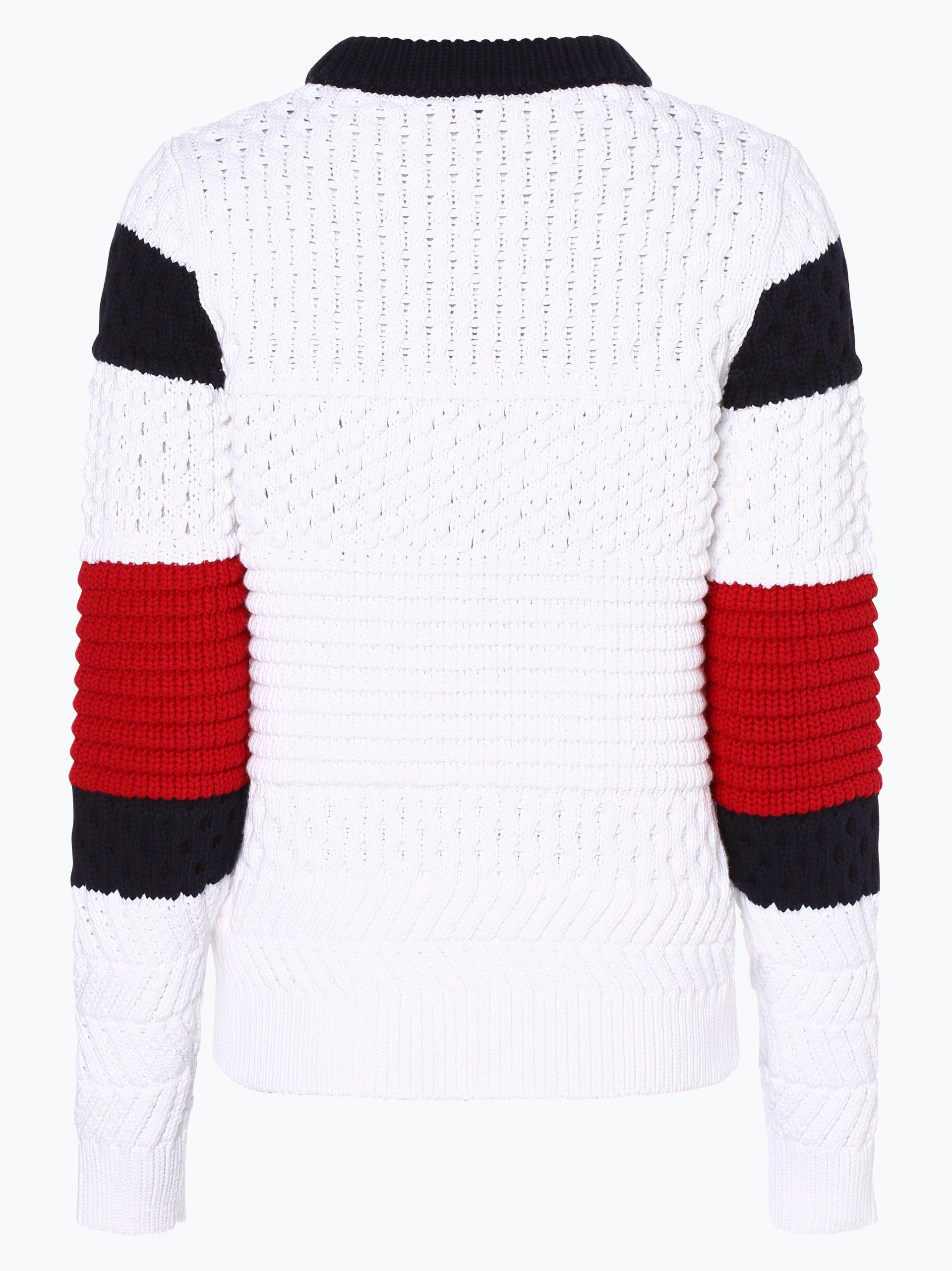 tommy hilfiger damen pullover wei gestreift online kaufen. Black Bedroom Furniture Sets. Home Design Ideas