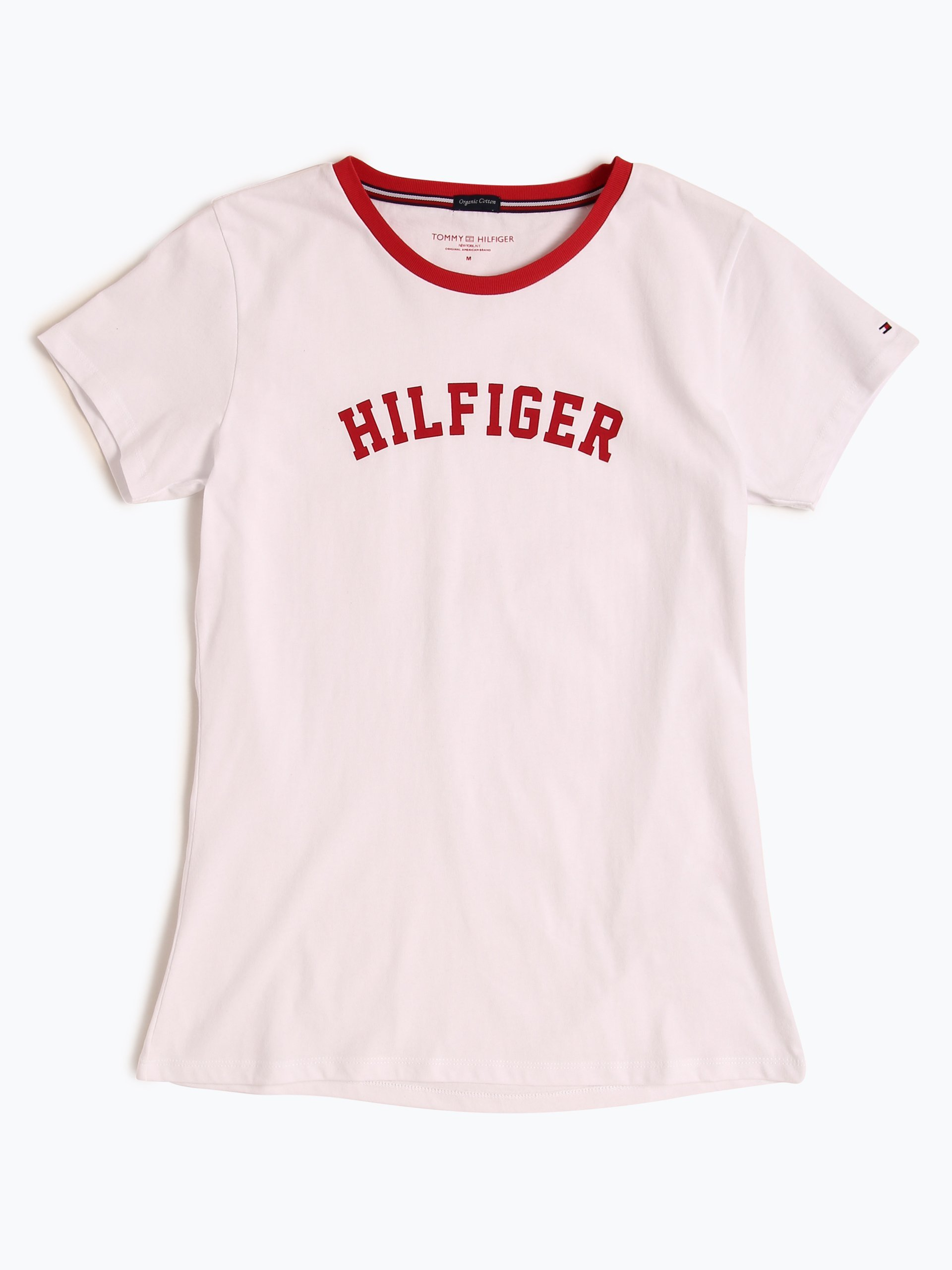 tommy hilfiger damen pyjama shirt wei uni online kaufen. Black Bedroom Furniture Sets. Home Design Ideas