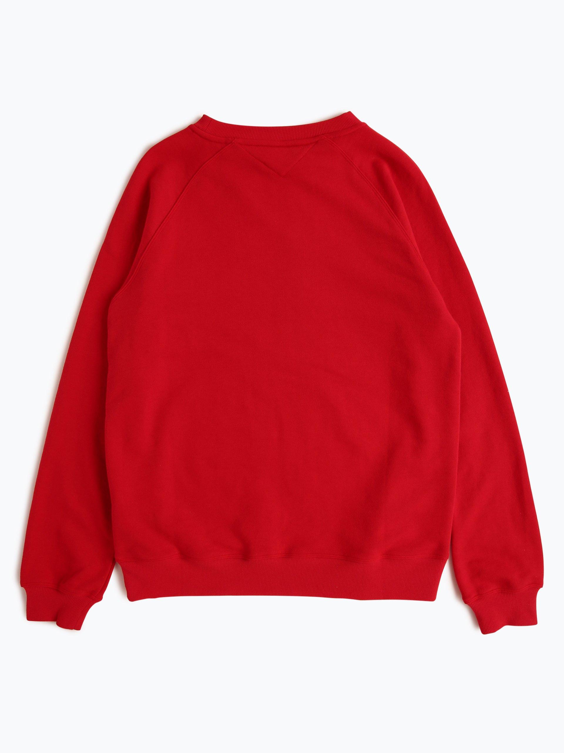 tommy hilfiger damen pyjama shirt rot uni online kaufen. Black Bedroom Furniture Sets. Home Design Ideas
