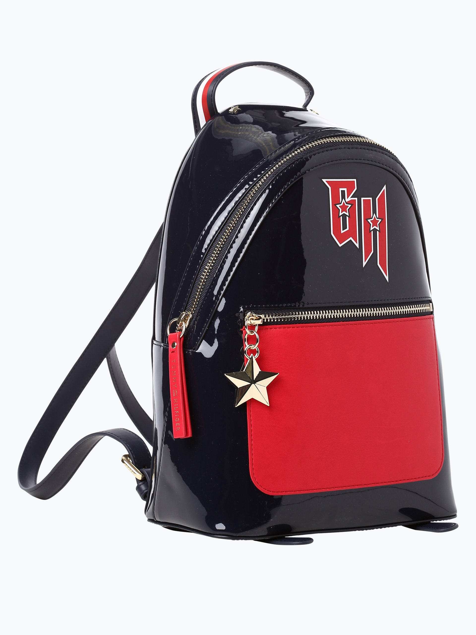 tommy hilfiger damen rucksack gigi hadid mini backpack marine uni online kaufen peek und. Black Bedroom Furniture Sets. Home Design Ideas