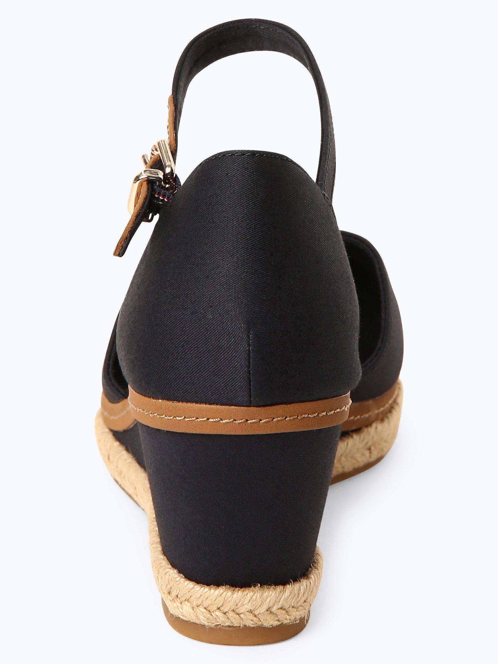 tommy hilfiger damen sandalen mit leder anteil online. Black Bedroom Furniture Sets. Home Design Ideas