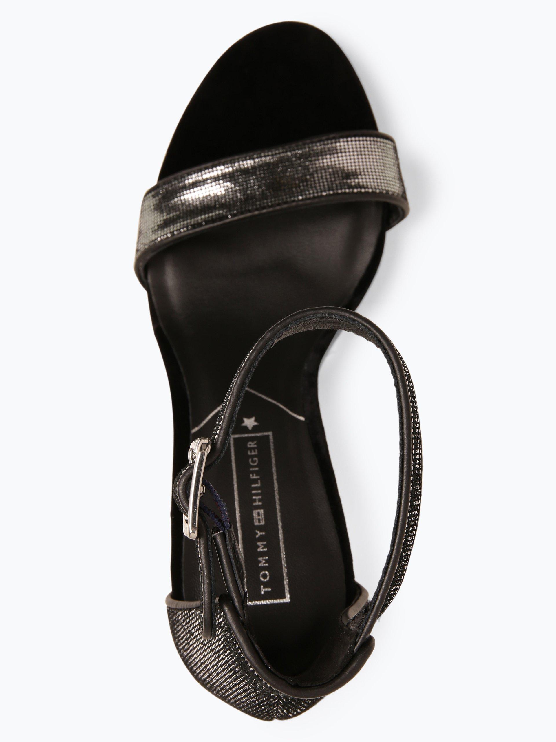 Tommy Hilfiger Damen Sandaletten mit Leder-Anteil