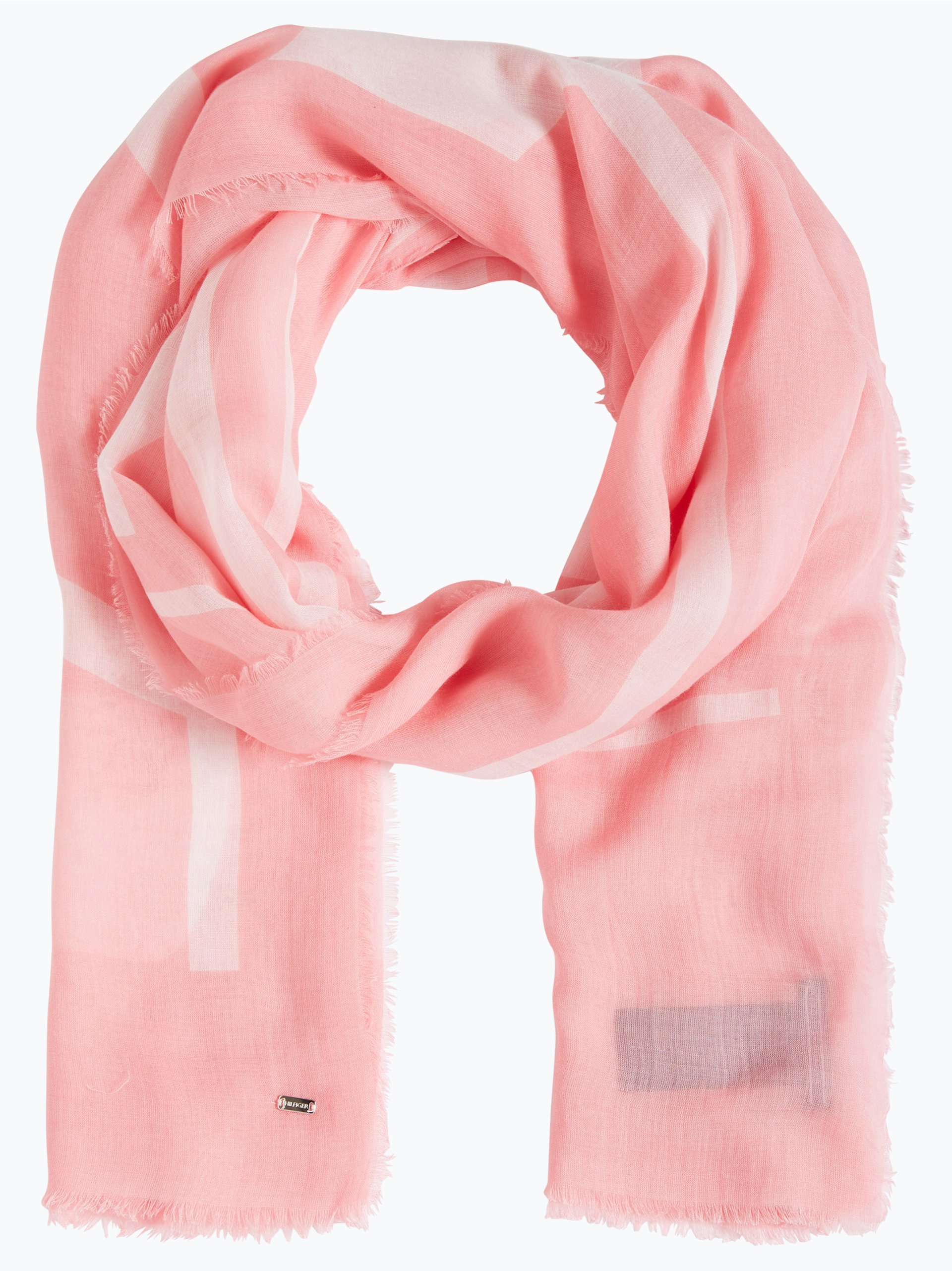 tommy hilfiger damen schal pippa rosa gemustert online. Black Bedroom Furniture Sets. Home Design Ideas