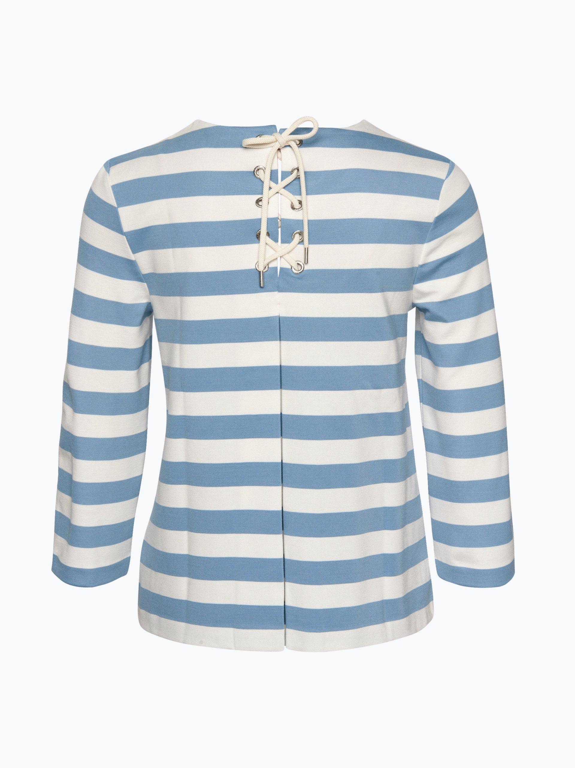 tommy hilfiger damen shirt linnet hellblau gestreift. Black Bedroom Furniture Sets. Home Design Ideas
