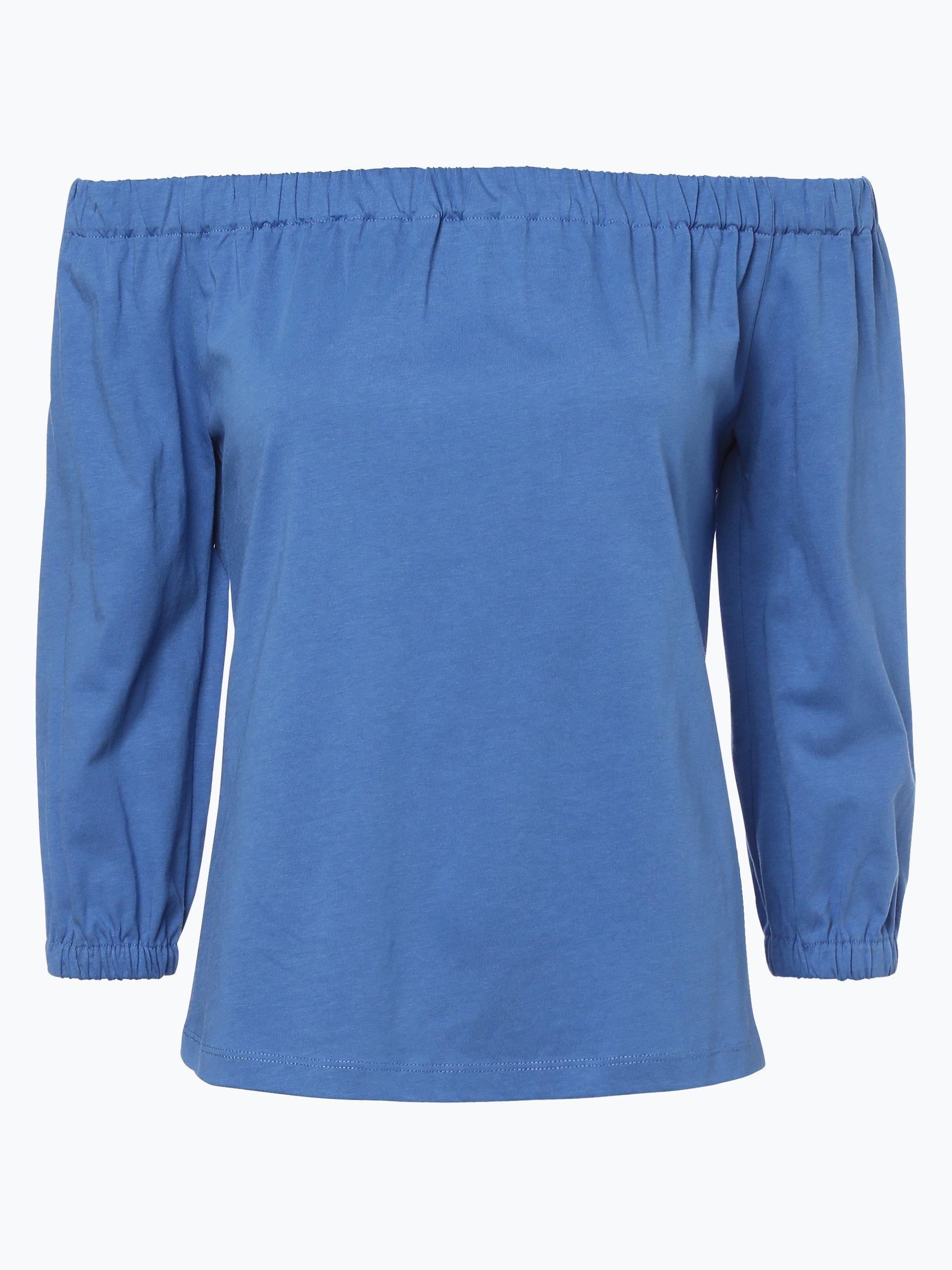 tommy hilfiger damen shirt royal blau uni online kaufen. Black Bedroom Furniture Sets. Home Design Ideas