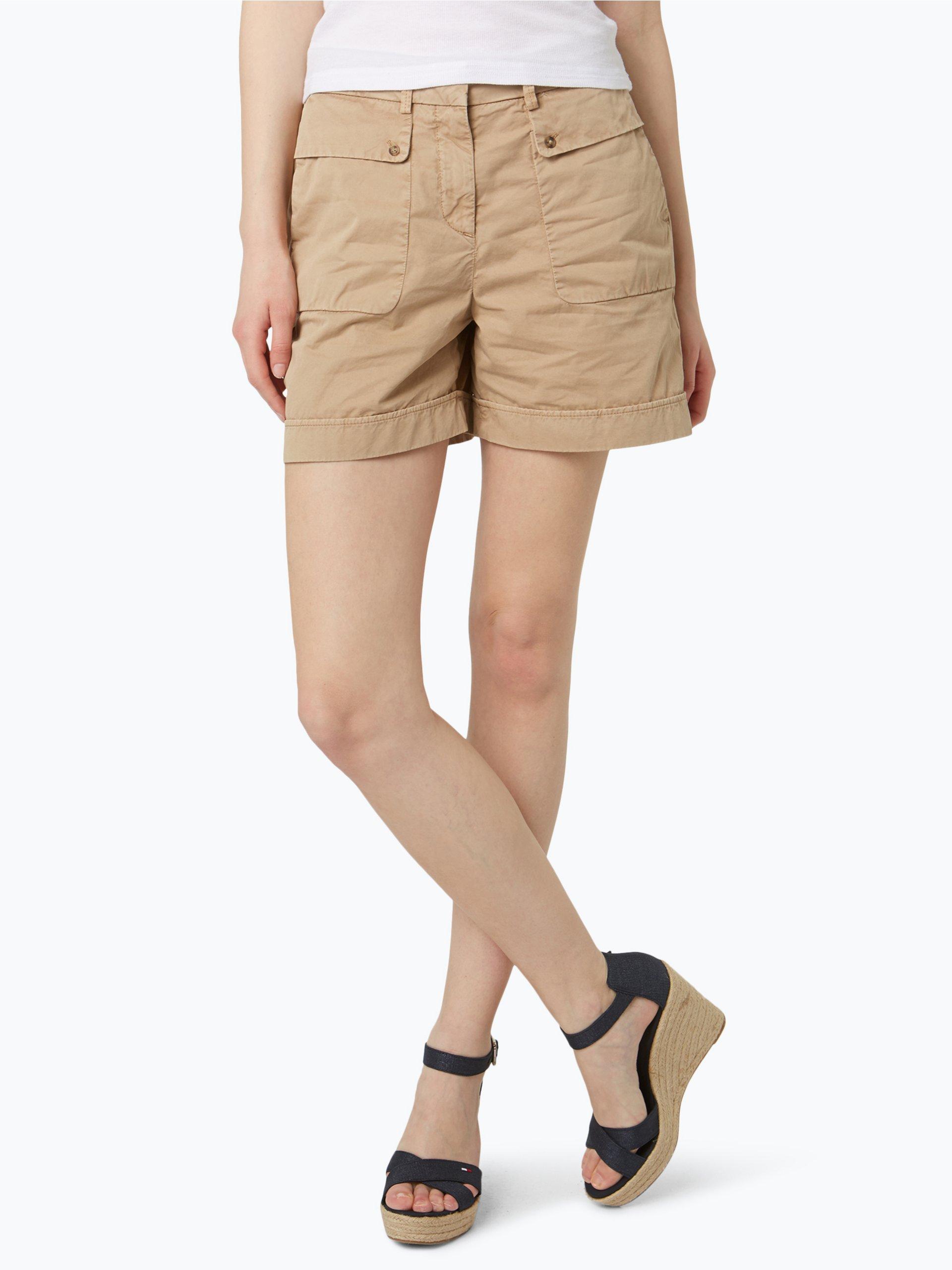tommy hilfiger damen shorts tamara sand uni online. Black Bedroom Furniture Sets. Home Design Ideas