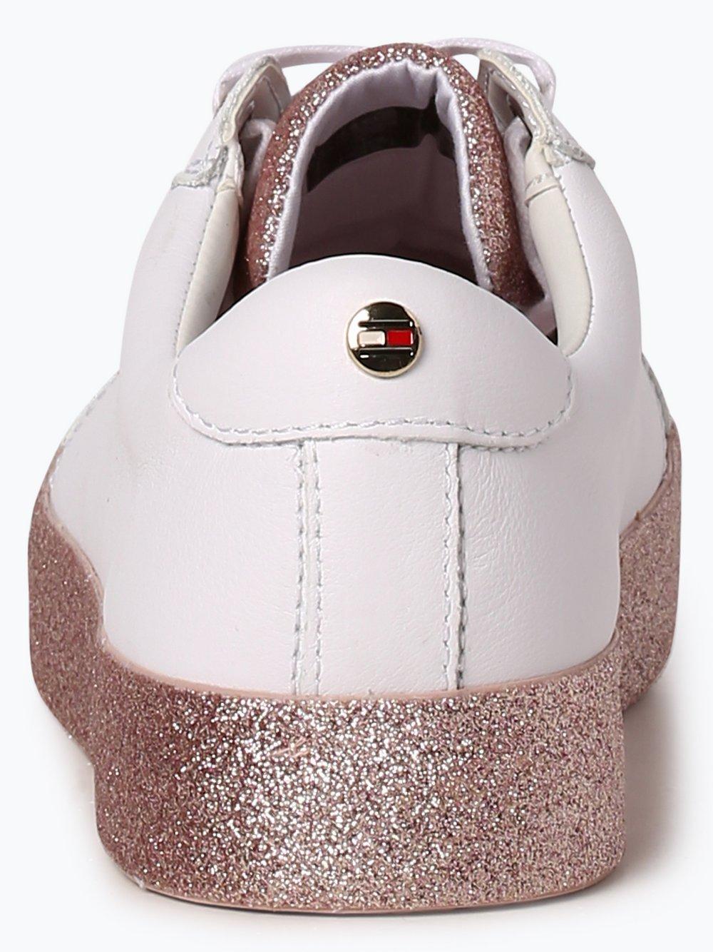 san francisco efefb 4c154 Tommy Hilfiger Damen Sneaker mit Leder-Anteil - Sparkle ...