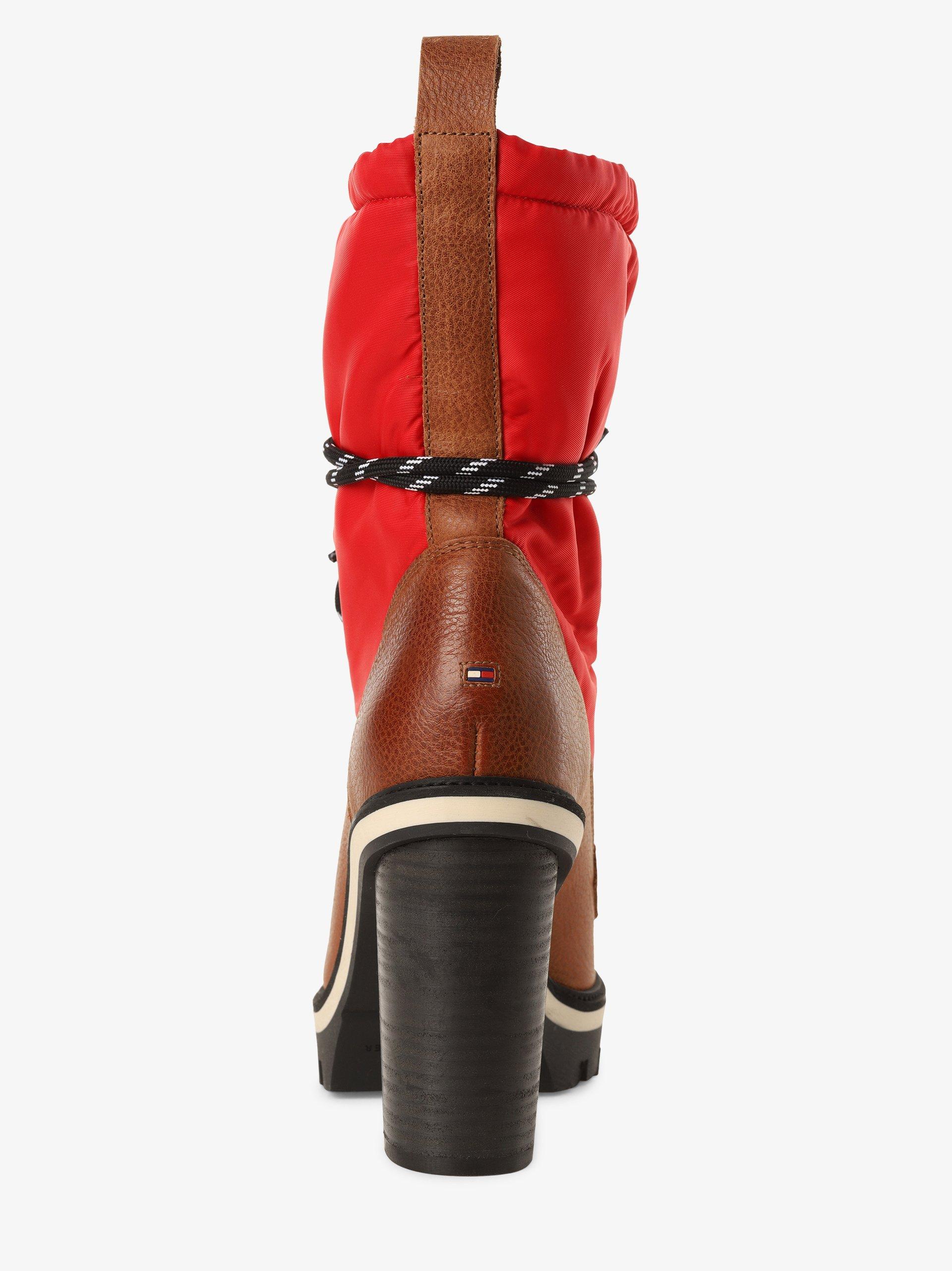 Tommy Hilfiger Damen Stiefeletten aus Leder - Fun Outdoor Nylon Bootie