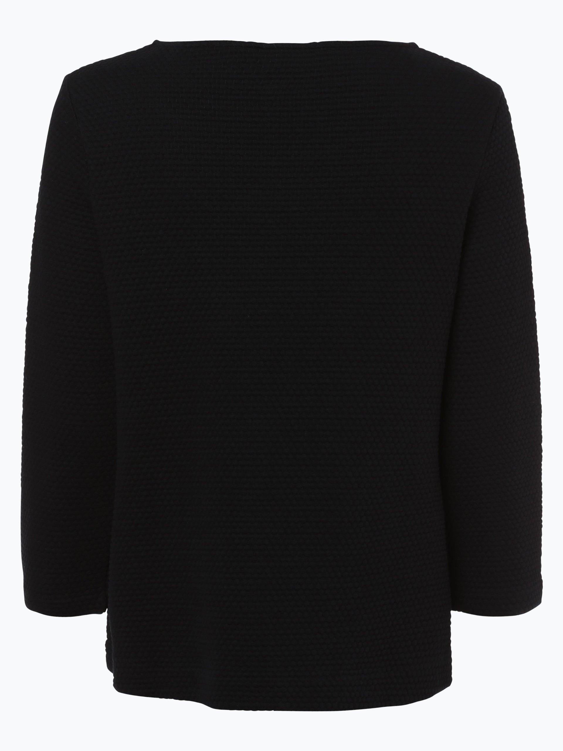 tommy hilfiger damen sweatshirt biona schwarz uni online. Black Bedroom Furniture Sets. Home Design Ideas