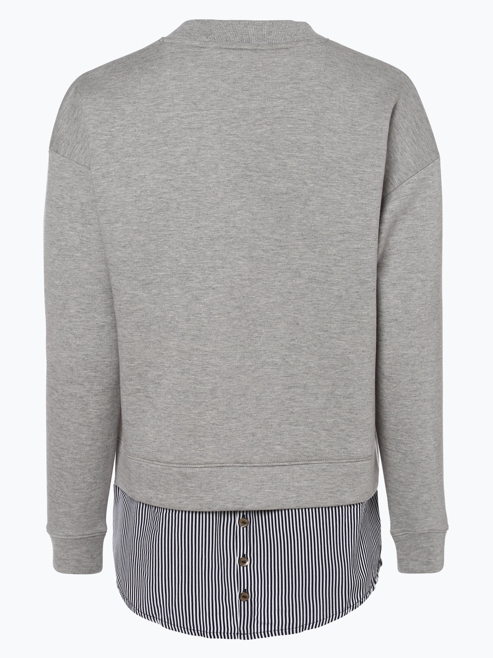 tommy hilfiger damen sweatshirt cedrik grau gestreift. Black Bedroom Furniture Sets. Home Design Ideas