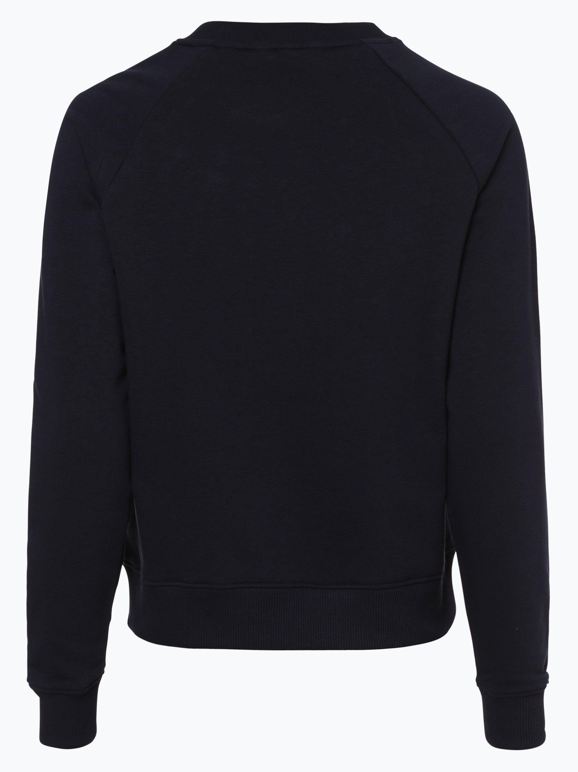 tommy hilfiger damen sweatshirt francesca marine uni. Black Bedroom Furniture Sets. Home Design Ideas