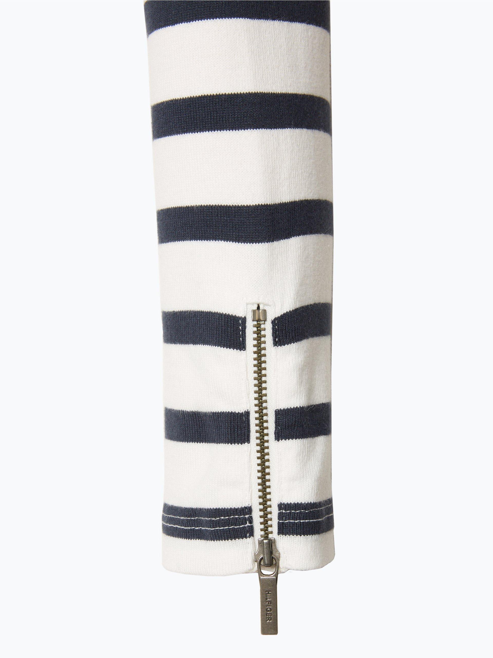 tommy hilfiger damen sweatshirt olinda wei gestreift. Black Bedroom Furniture Sets. Home Design Ideas