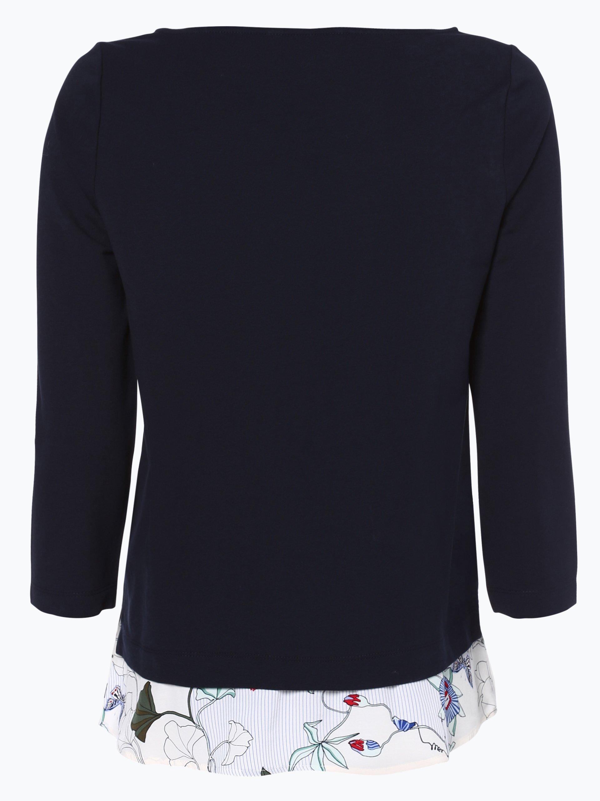 tommy hilfiger damen sweatshirt marine gemustert online. Black Bedroom Furniture Sets. Home Design Ideas