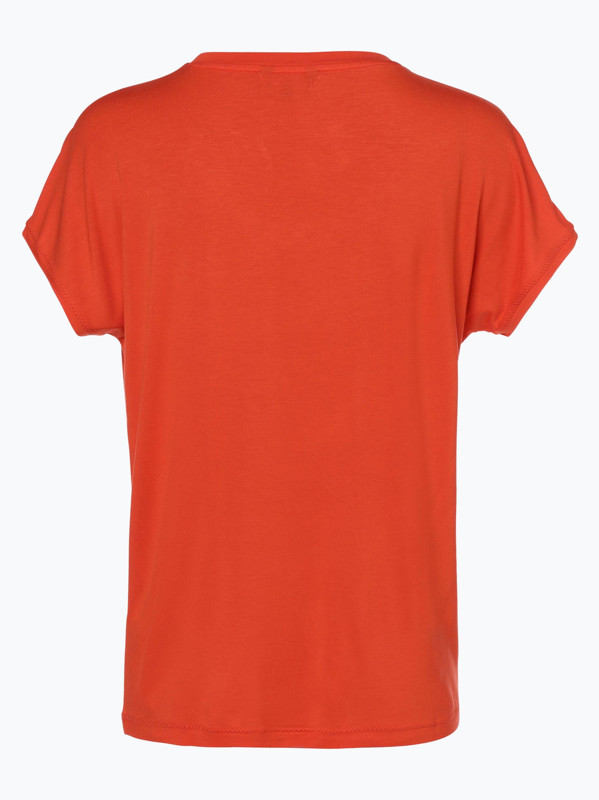 tommy hilfiger damen t shirt draser orange uni online. Black Bedroom Furniture Sets. Home Design Ideas
