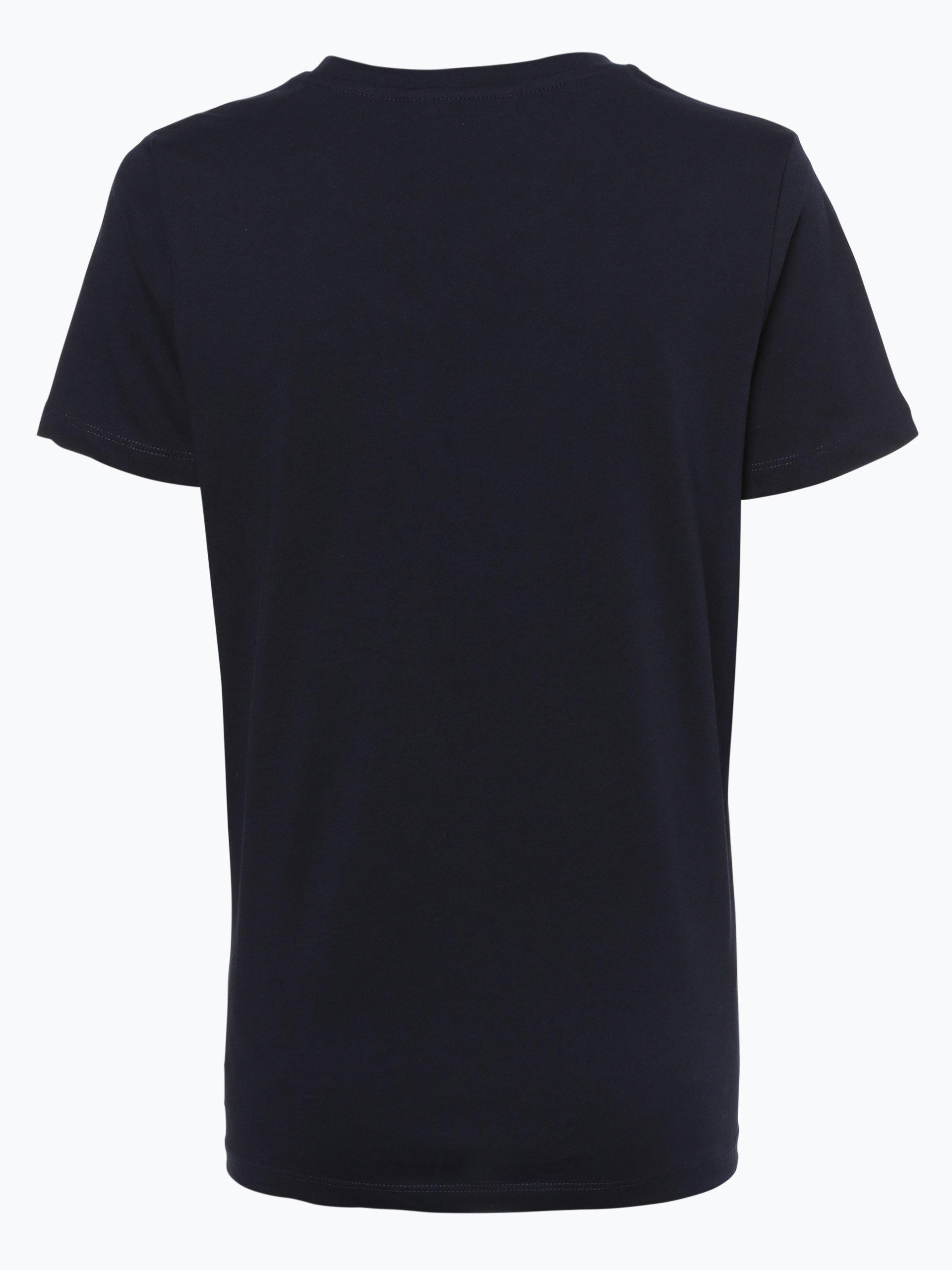 tommy hilfiger damen t shirt effy marine uni online. Black Bedroom Furniture Sets. Home Design Ideas