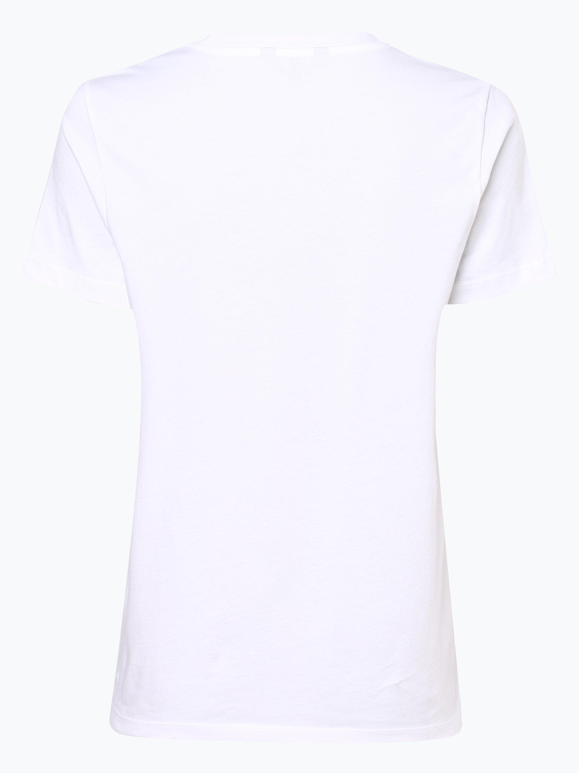 tommy hilfiger damen t shirt effy wei bedruckt online kaufen peek und cloppenburg de. Black Bedroom Furniture Sets. Home Design Ideas
