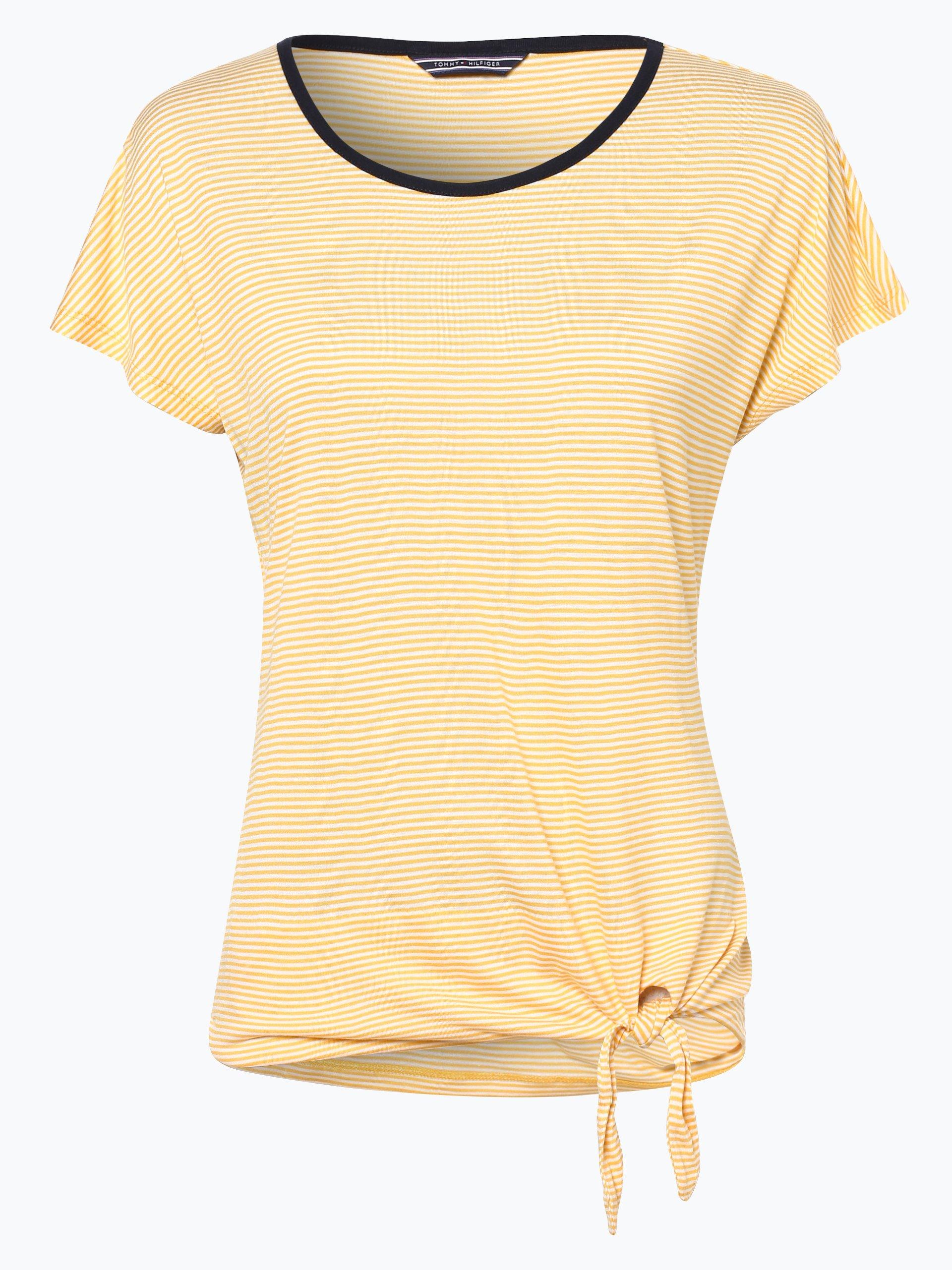 tommy hilfiger damen t shirt ema online kaufen peek. Black Bedroom Furniture Sets. Home Design Ideas