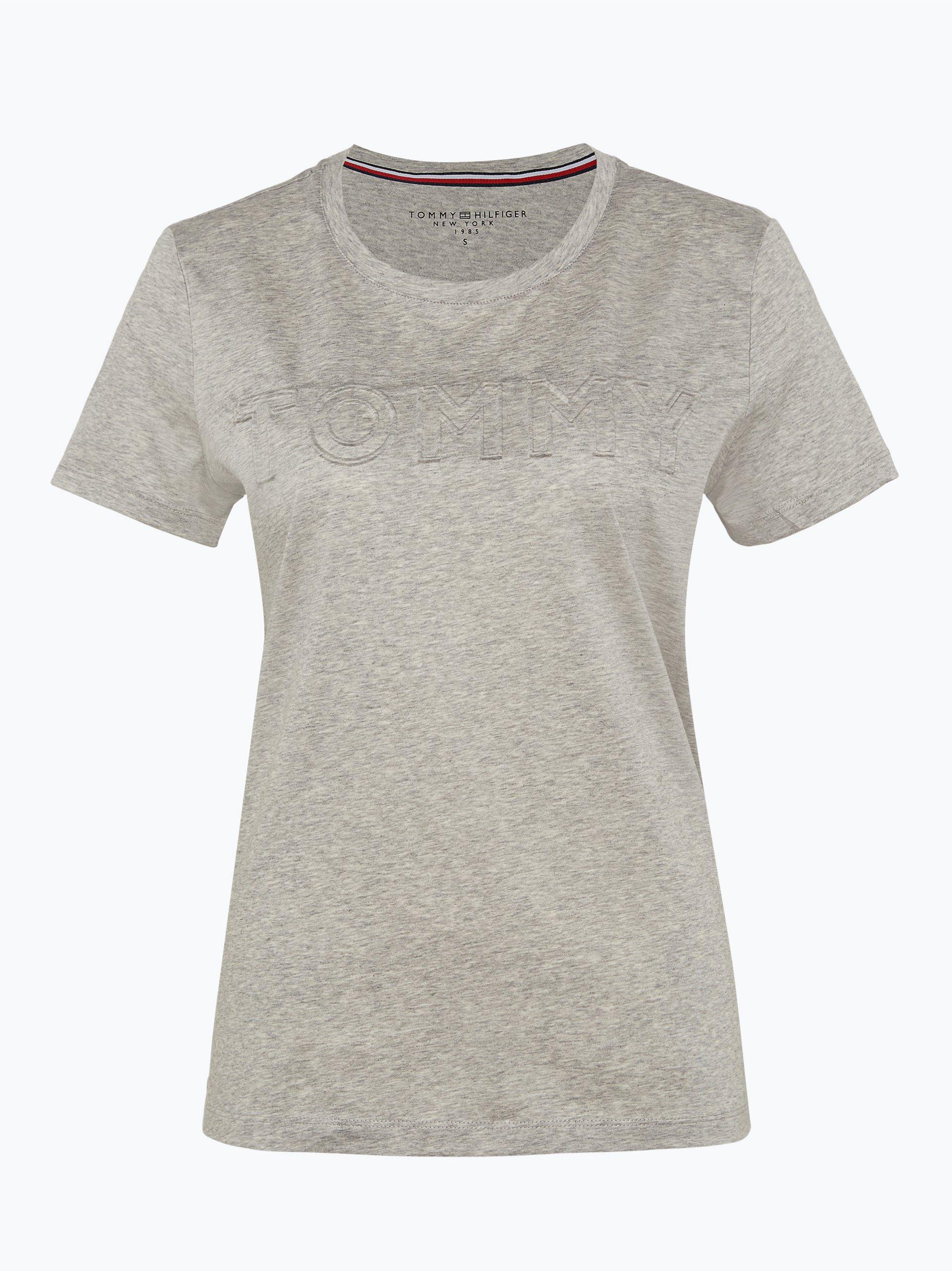 tommy hilfiger damen t shirt silber gemustert online. Black Bedroom Furniture Sets. Home Design Ideas